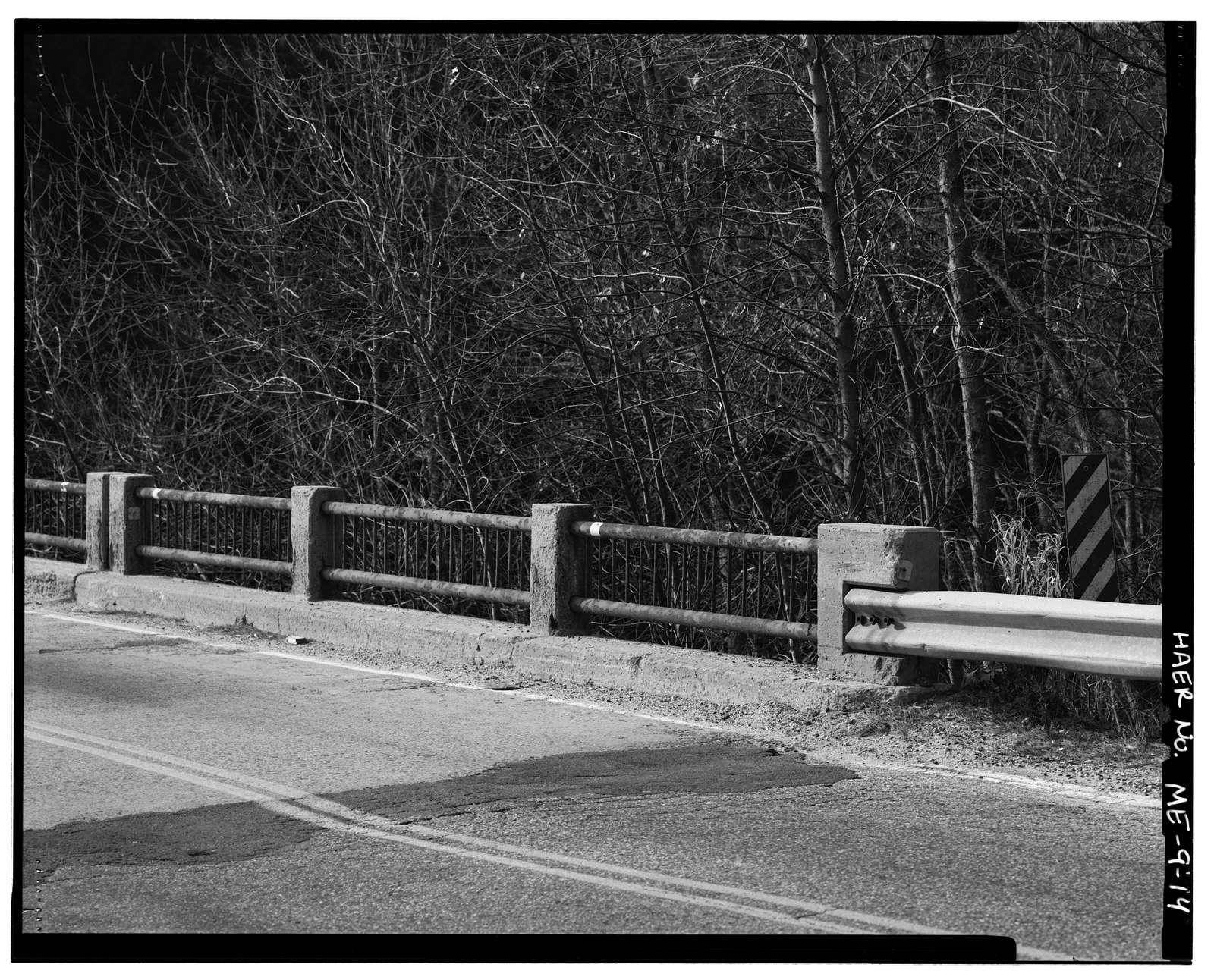 Presumpscot Falls Bridge, Spanning Presumptscot River at Allen Avenue extension, 0.75 mile west of U.S. Interstate 95, Falmouth, Cumberland County, ME