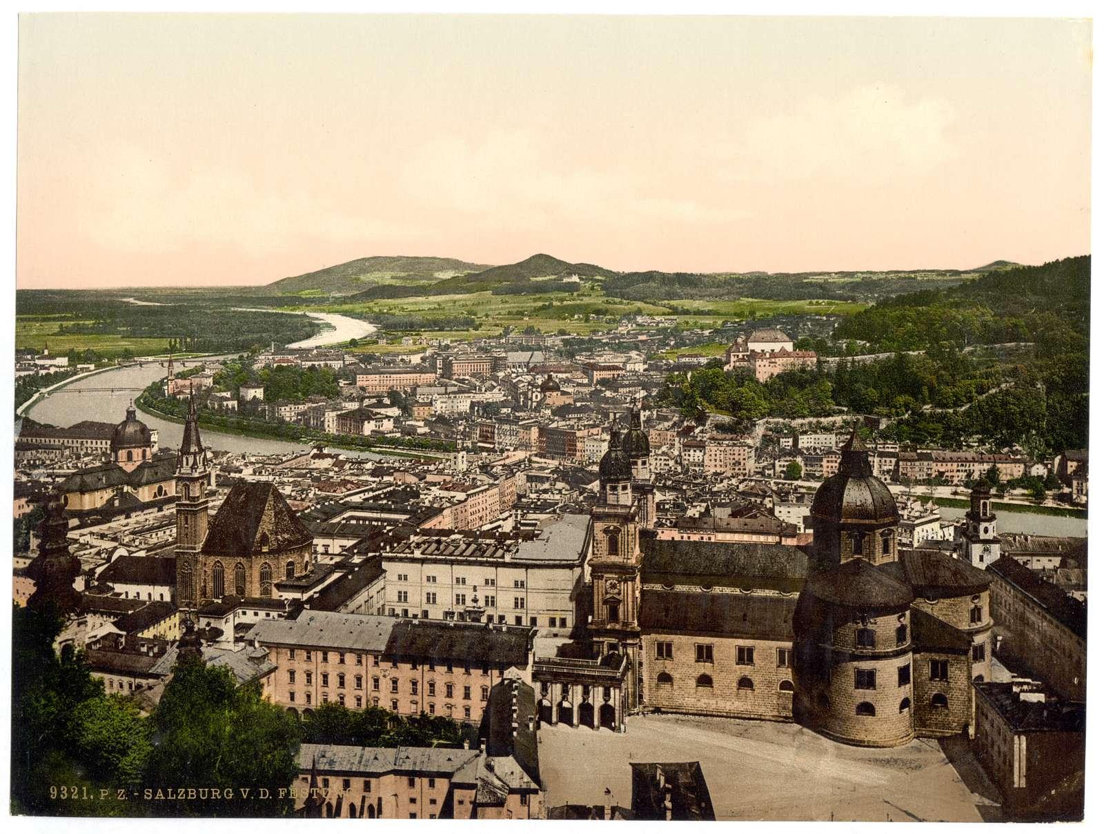 [Salzburg, from Maria Plain, Austro-Hungary]