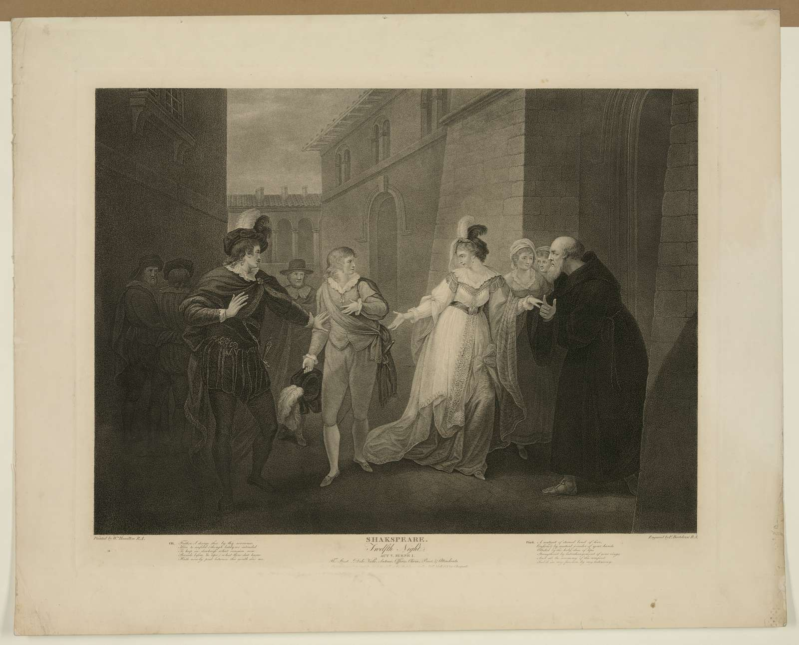 Shakespeare. Twelfth Night. Act V. Scene I