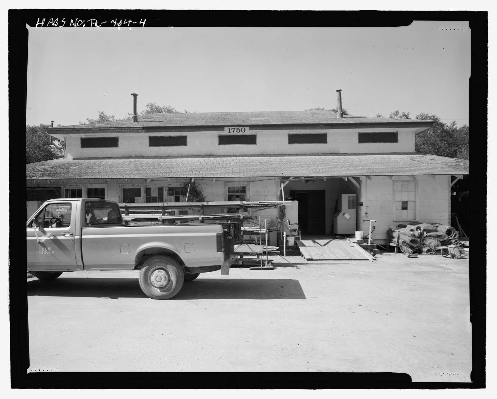 U.S. Naval Air Station, Assembly Hall, Radford Boulevard, Pensacola, Escambia County, FL