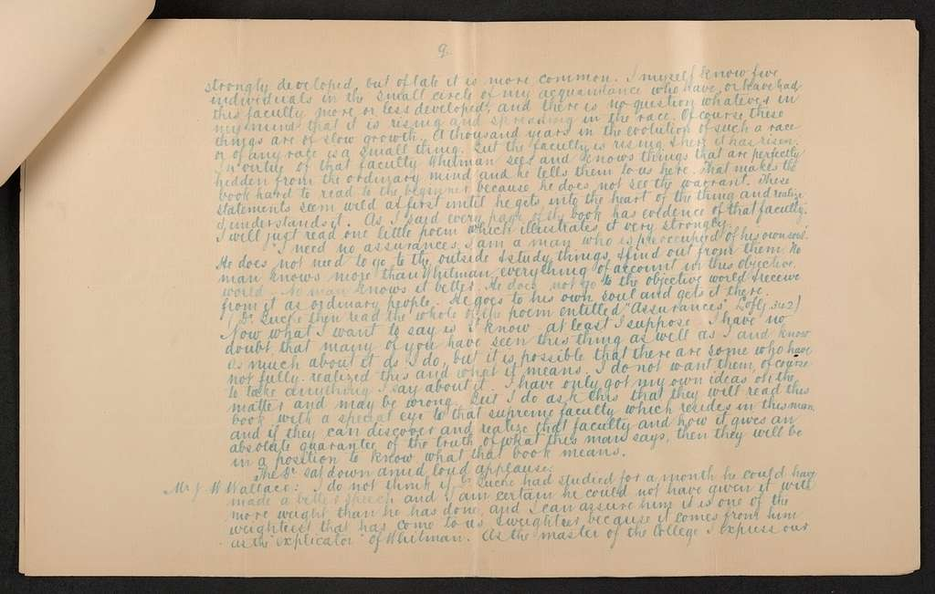Walt Whitman Papers in the Charles E. Feinberg Collection: Supplementary File, 1806-1981; Personal Papers, 1854-1980; Johnston, John H., family papers; Miscellany; Bolton Fellowship