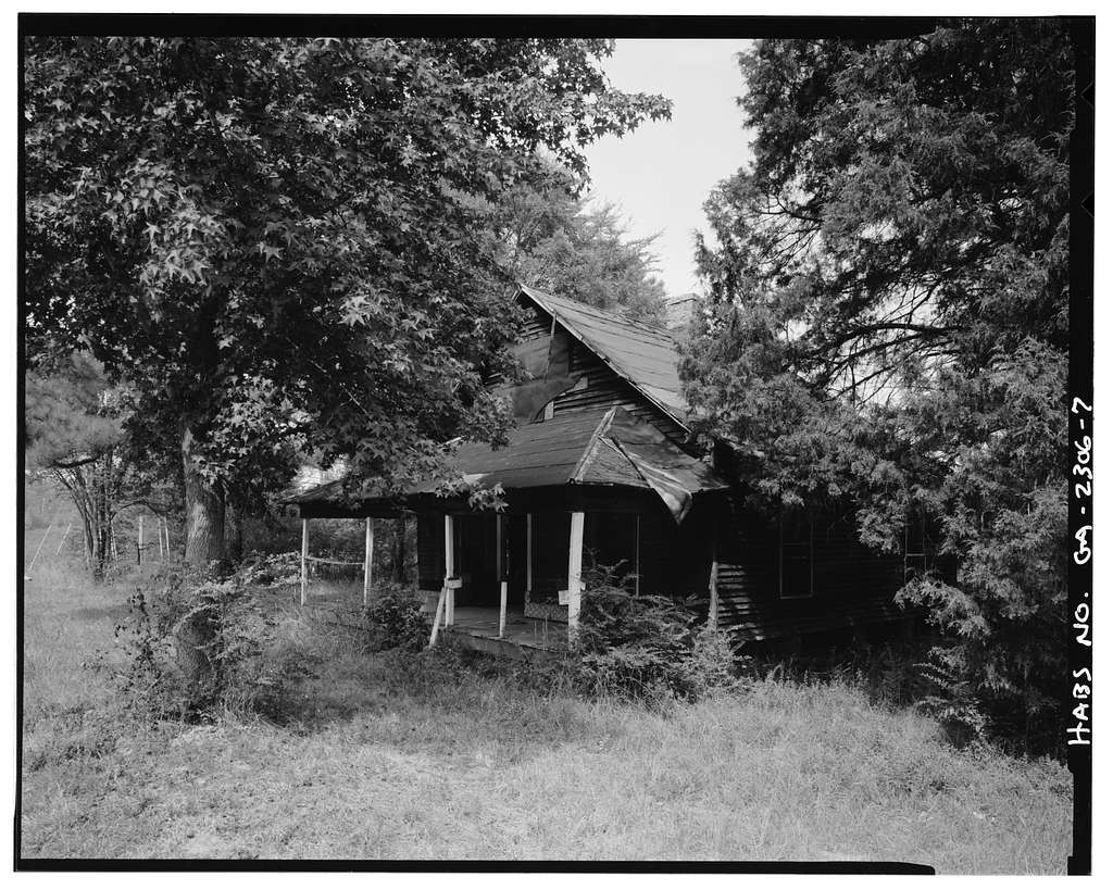 Andrew Nations House, Northeast corner of intersection of Redwing & Bernhard Roads, Peachtree City, Fayette County, GA