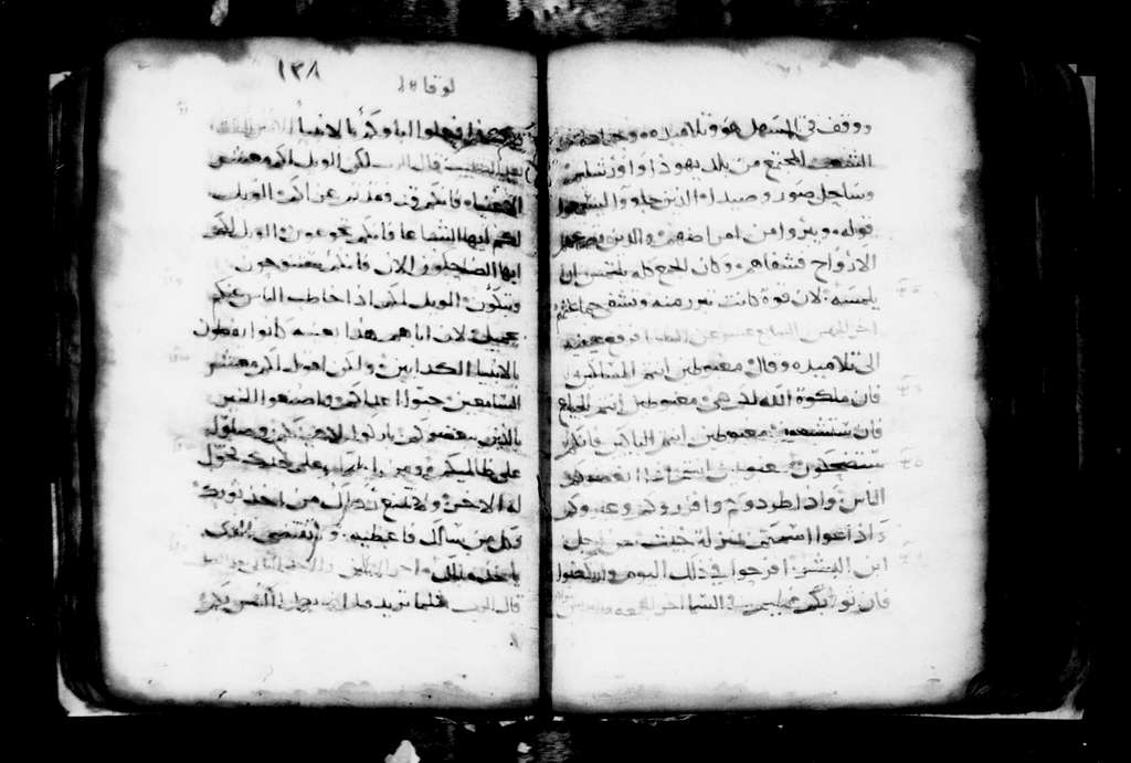 Arabic 72.Evangelion.14th 15th cent. 215 f. Pa. 25 ft