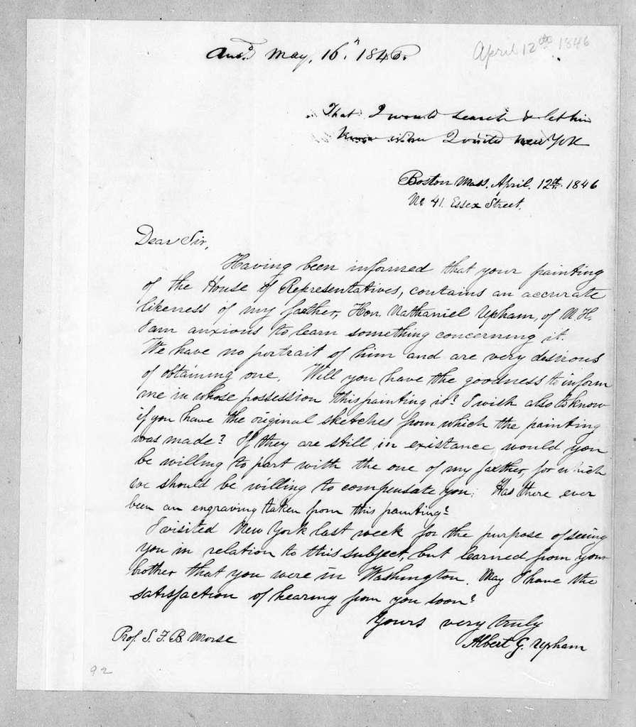 Bound volume---30 December 1845-8 December 1846