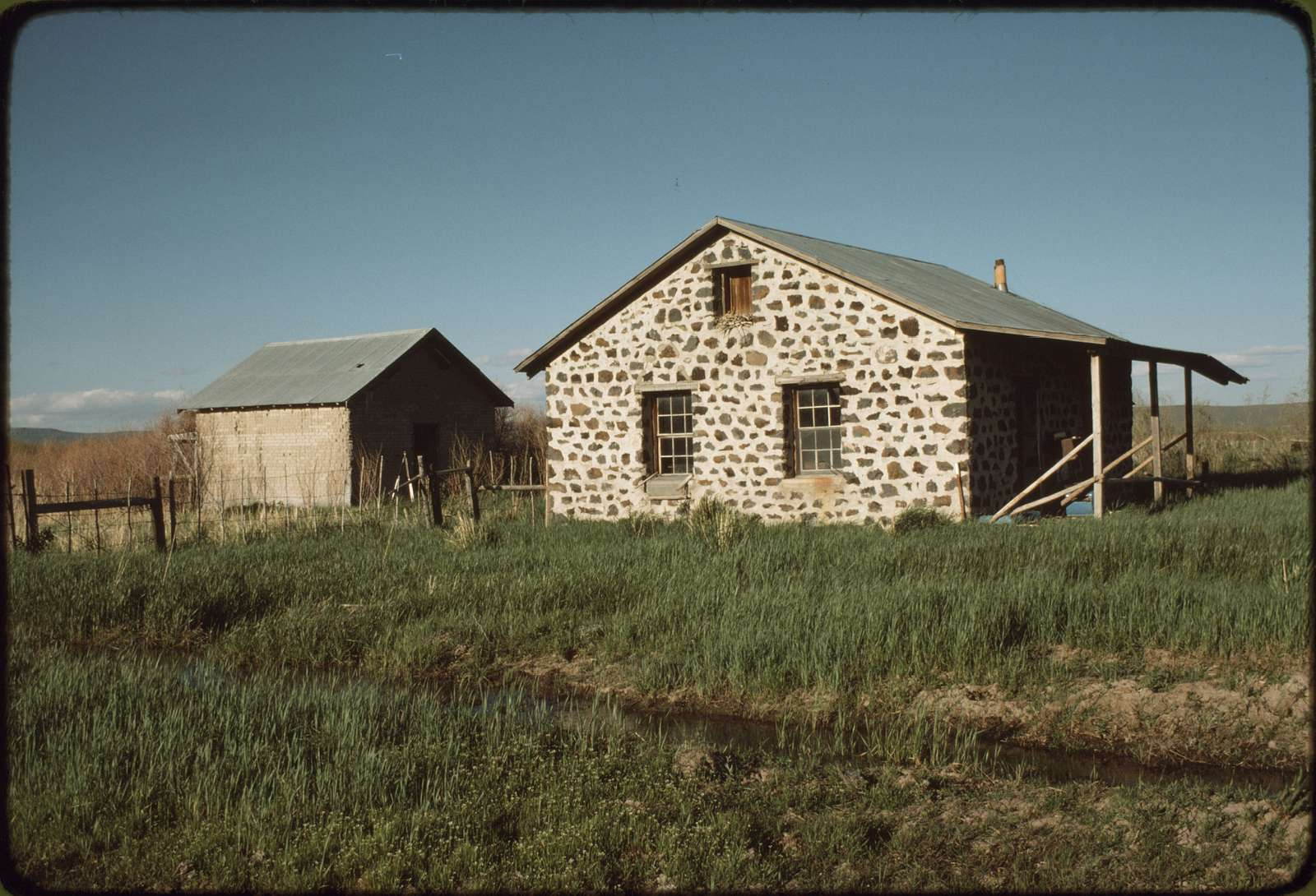Bunkhouse and Cookhouse at Hay Camp
