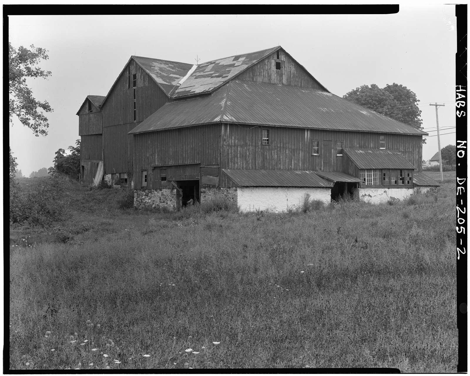 Corner Ketch Barn, Route 290, Corner Ketch, New Castle County, DE