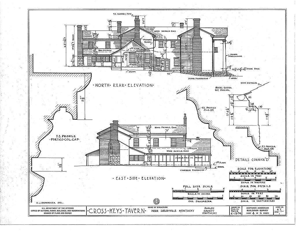 Cross Keys Tavern, U.S. Route 60, Shelbyville, Shelby County, KY