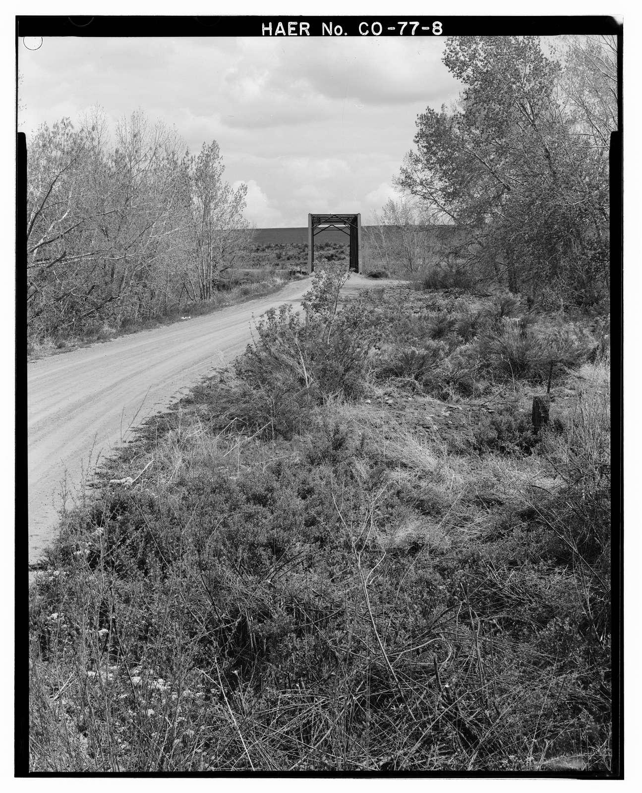 Elson Bridge, Spanning Purgatoire River at County Road 36, El Moro, Las Animas County, CO