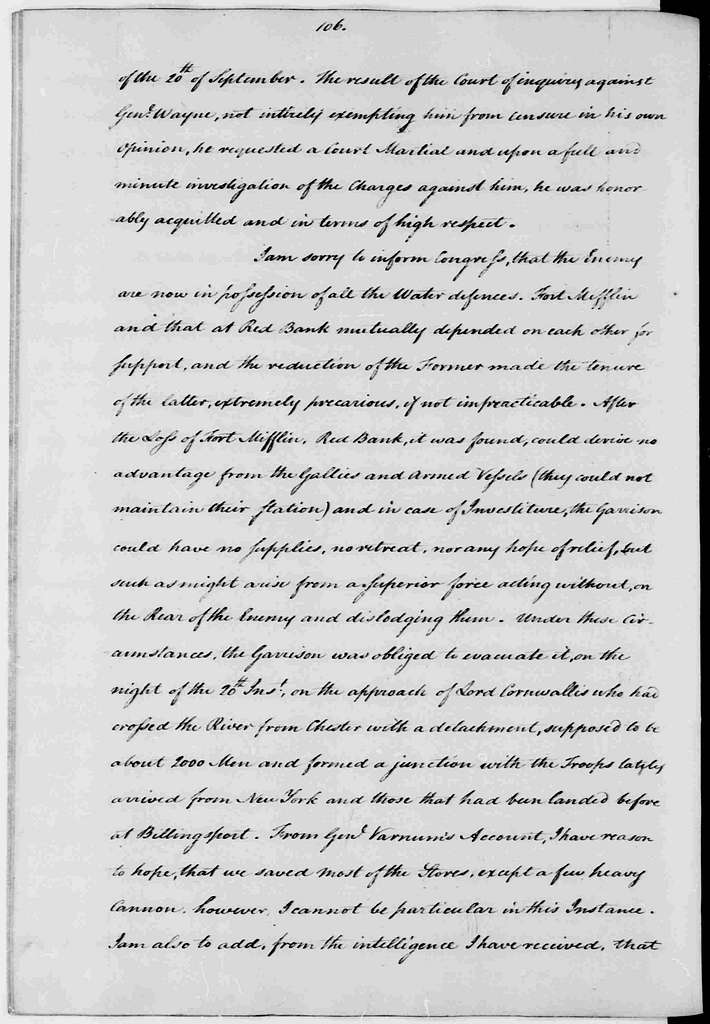 George Washington Papers, Series 3, Varick Transcripts, 1775-1785, Subseries 3A, Continental Congress, 1775-1783, Letterbook 3: Sept. 1, 1777 - Aug. 31, 1778