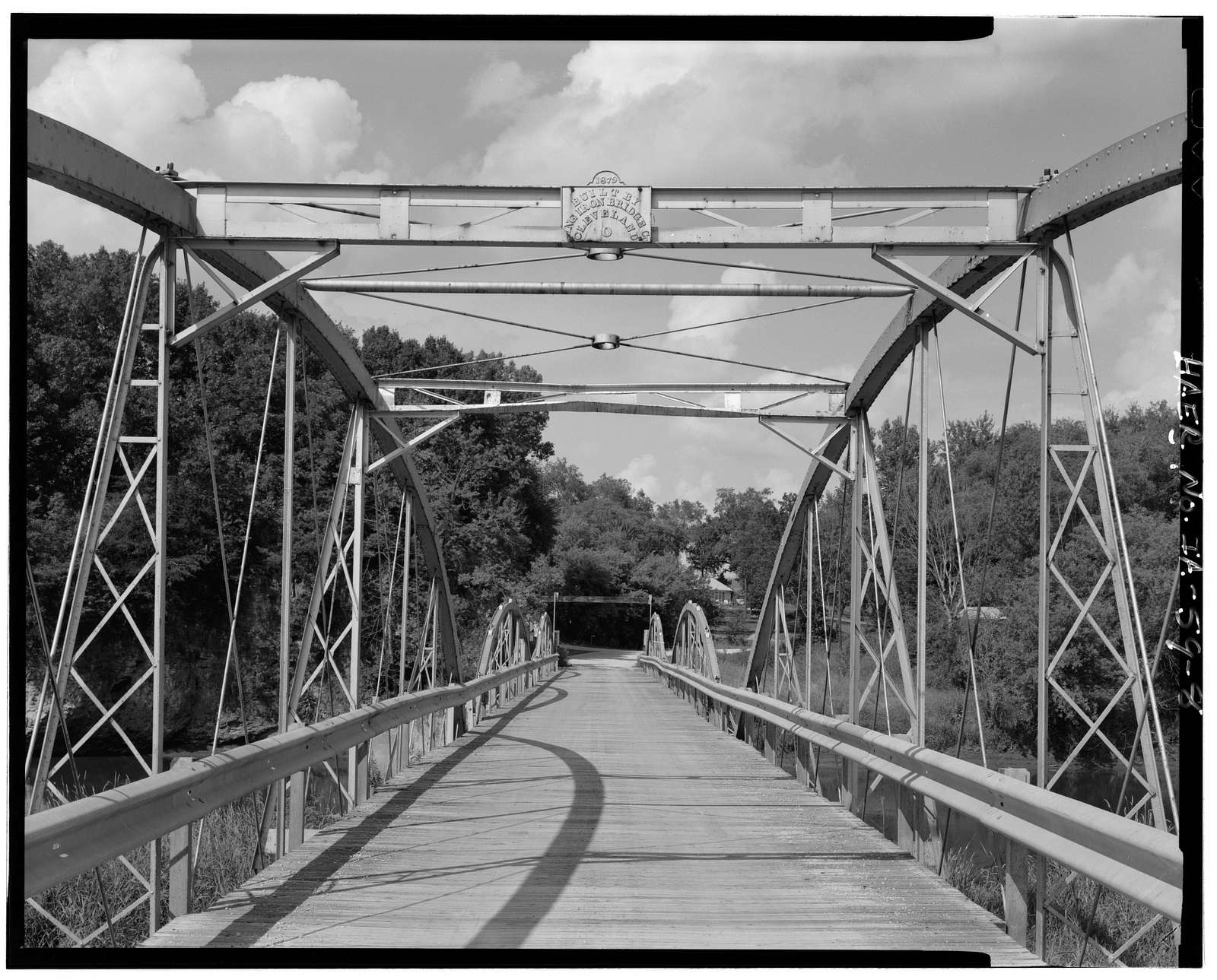 Hale Bridge, Spanning Wapsipinicon River, Oxford Junction, Jones County, IA