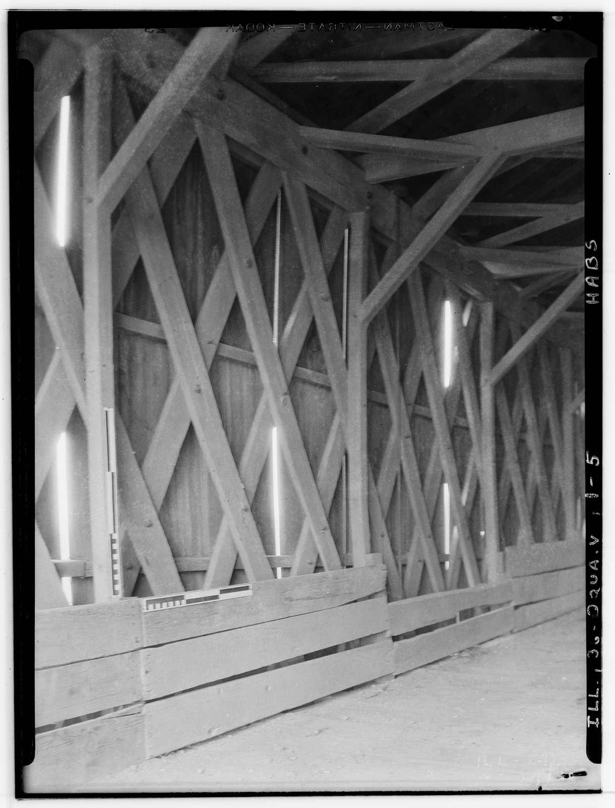 Jack's Mill Covered Bridge, Spanning Henderson Creek, Oquawka, Henderson County, IL