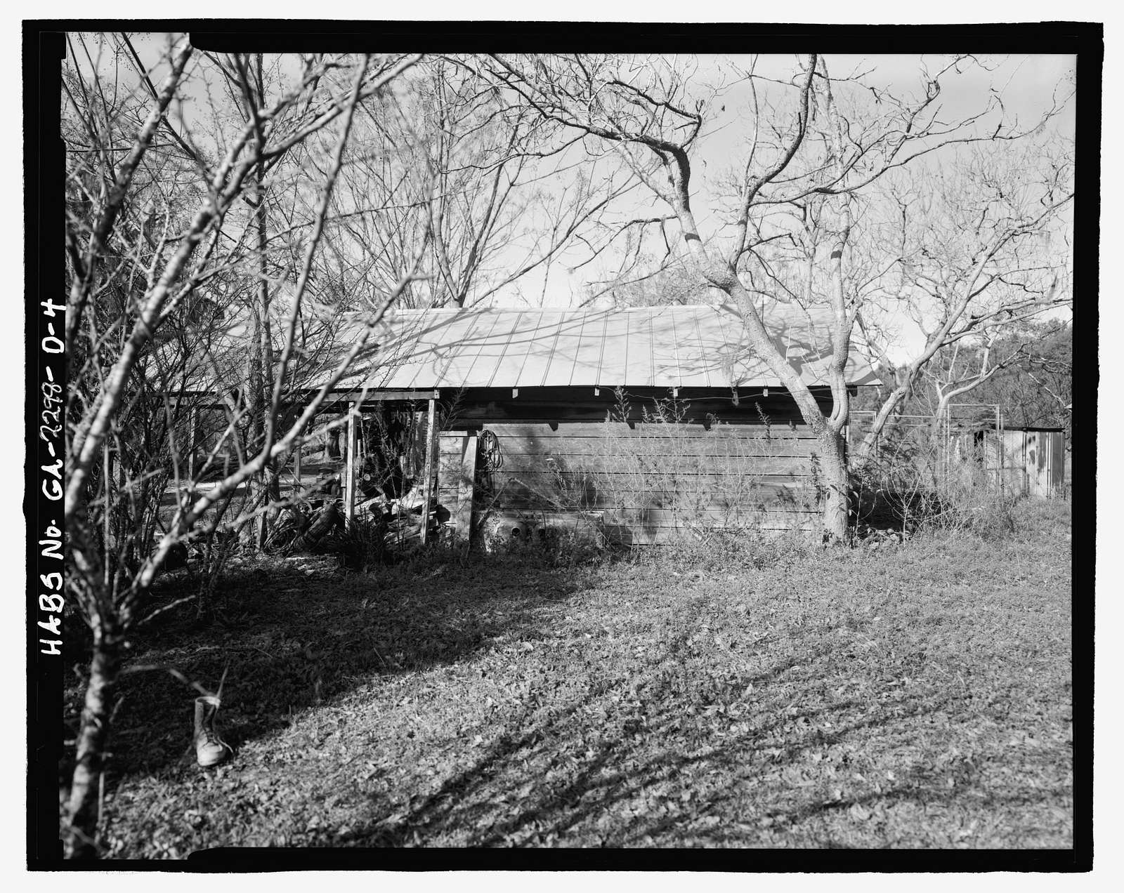 Jaudon-Bragg-Snelling Farm, Smokehouse, North side of GA State Route 21, Springfield, Effingham County, GA
