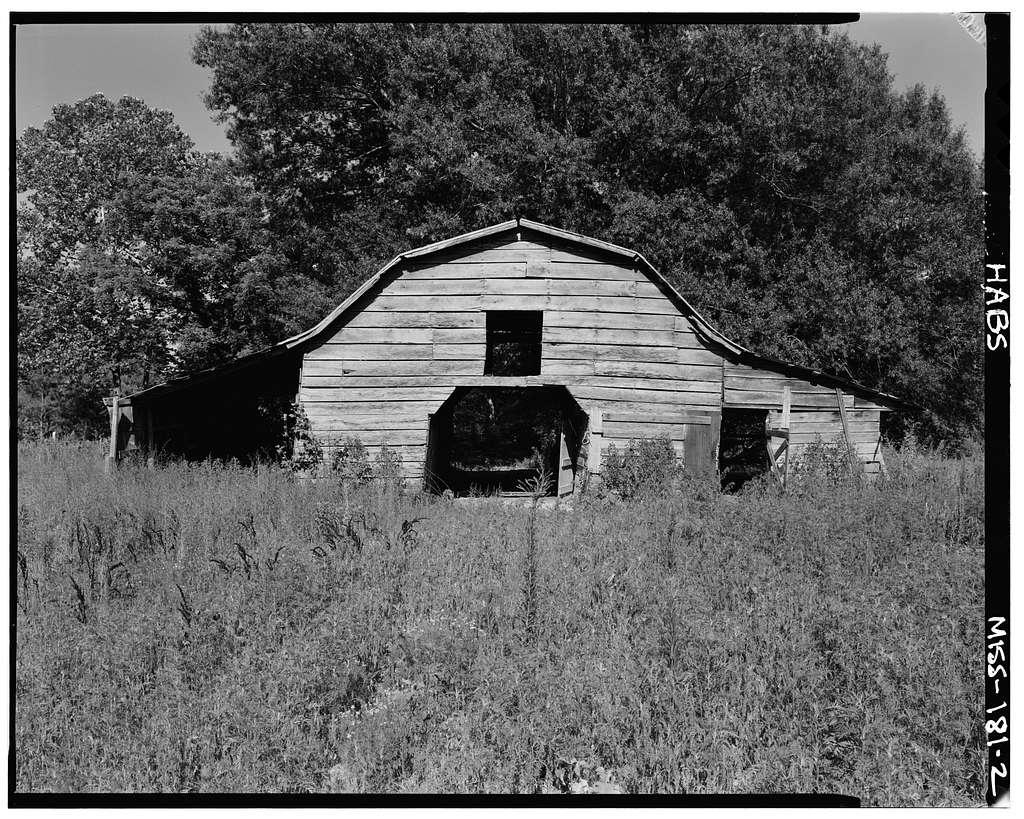 John R. Trimm Barn, Old Natchez Trace, Tishomingo, Tishomingo County, MS