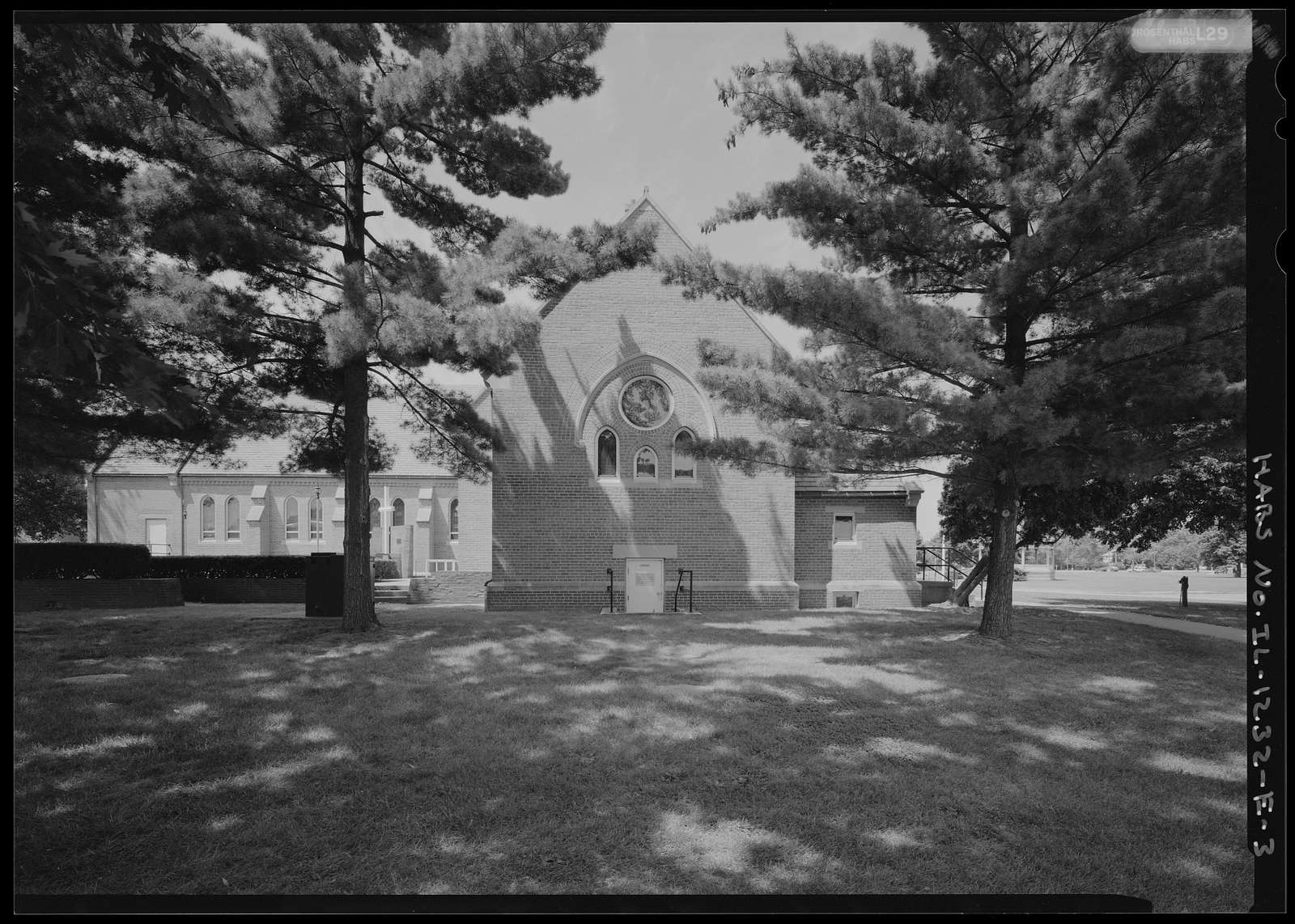 National Home for Disabled Volunteer Soldiers, Danville Branch, Chapel, 1900 and 2000 East Main Street , Danville, Vermilion County, IL