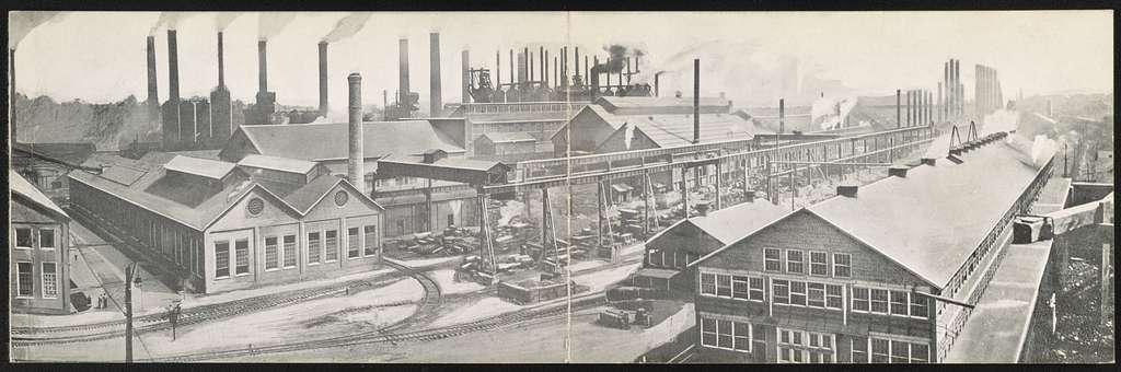 [Panorama of the Bethlehem Steel Works, South Bethlehem, Pa.]