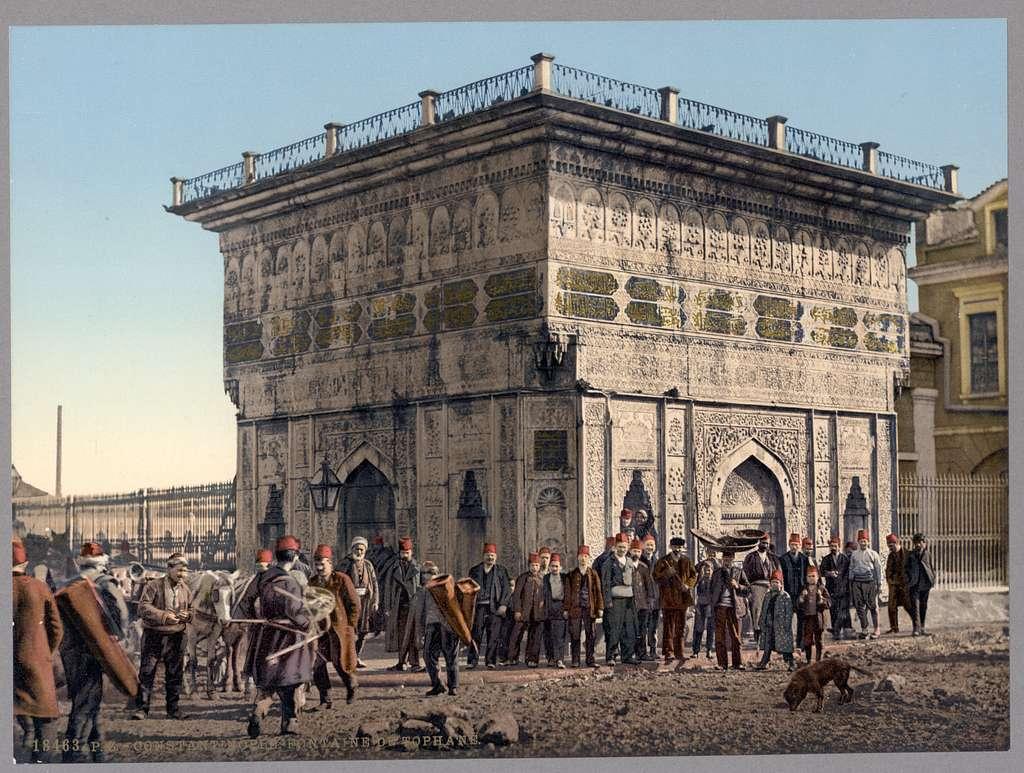 [Tophane Fountain, Constantinople, Turkey]