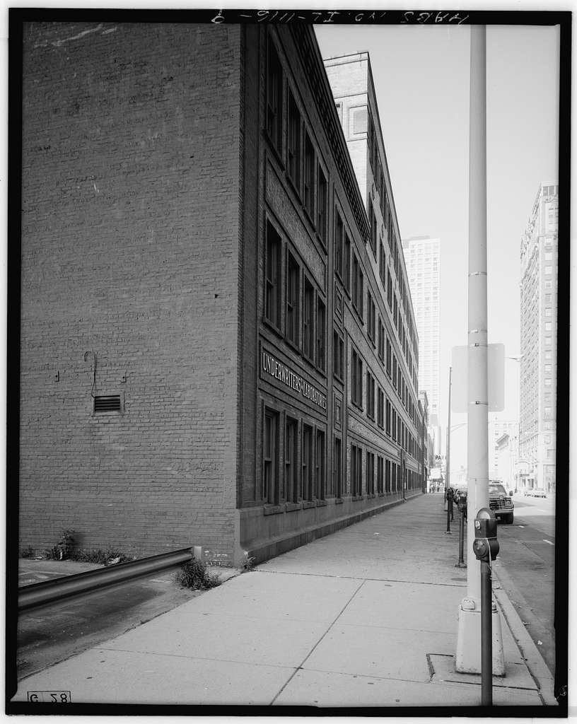 Underwriters' Laboratories, 207-231 East Ohio Street, Chicago, Cook County, IL