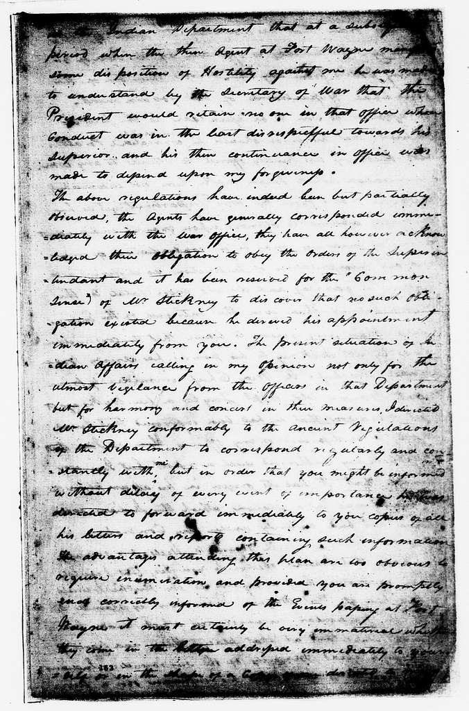 William Henry Harrison Papers: Series 2, Letterbook, 1812-1813; 1812-1813