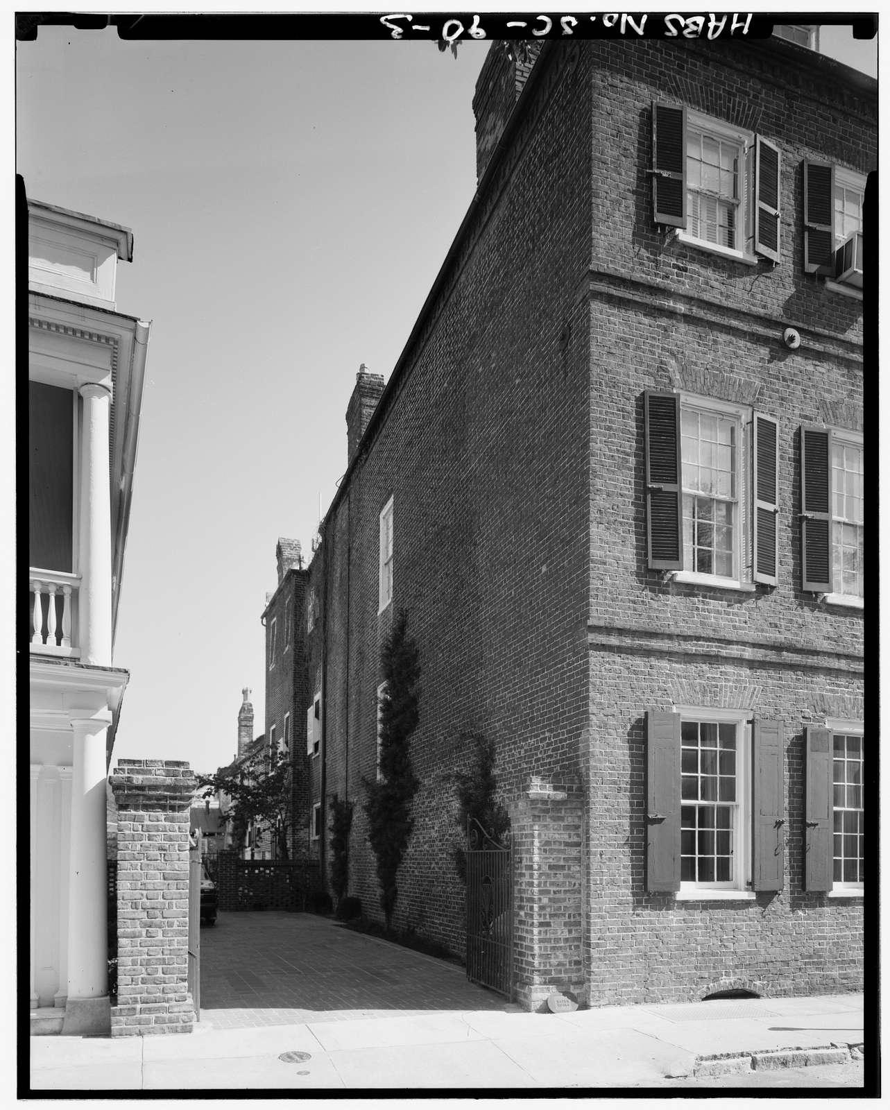 92 Church Street (House), Charleston, Charleston County, SC