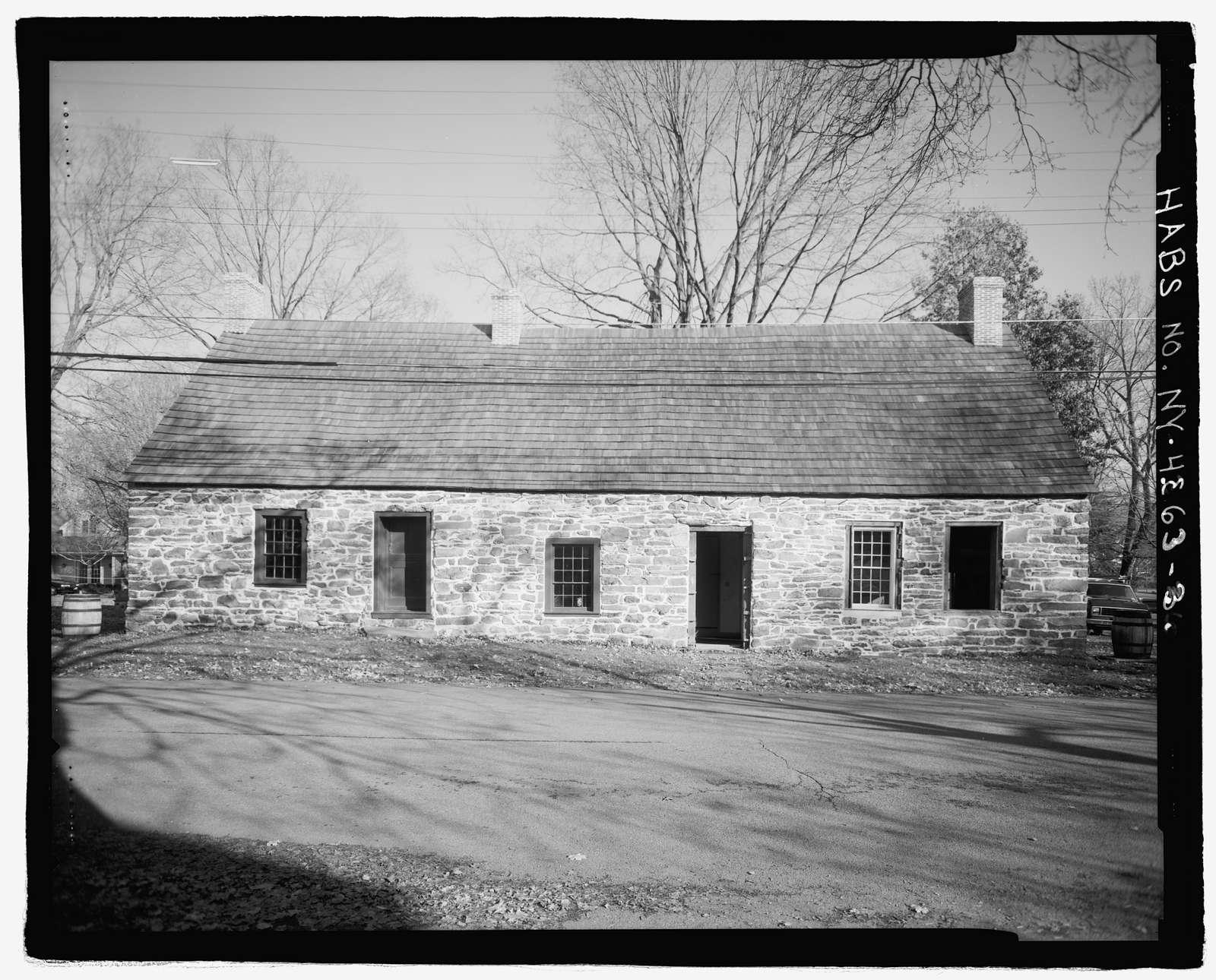 Abraham Hasbrouck House, 94 Huguenot Street, New Paltz, Ulster County, NY