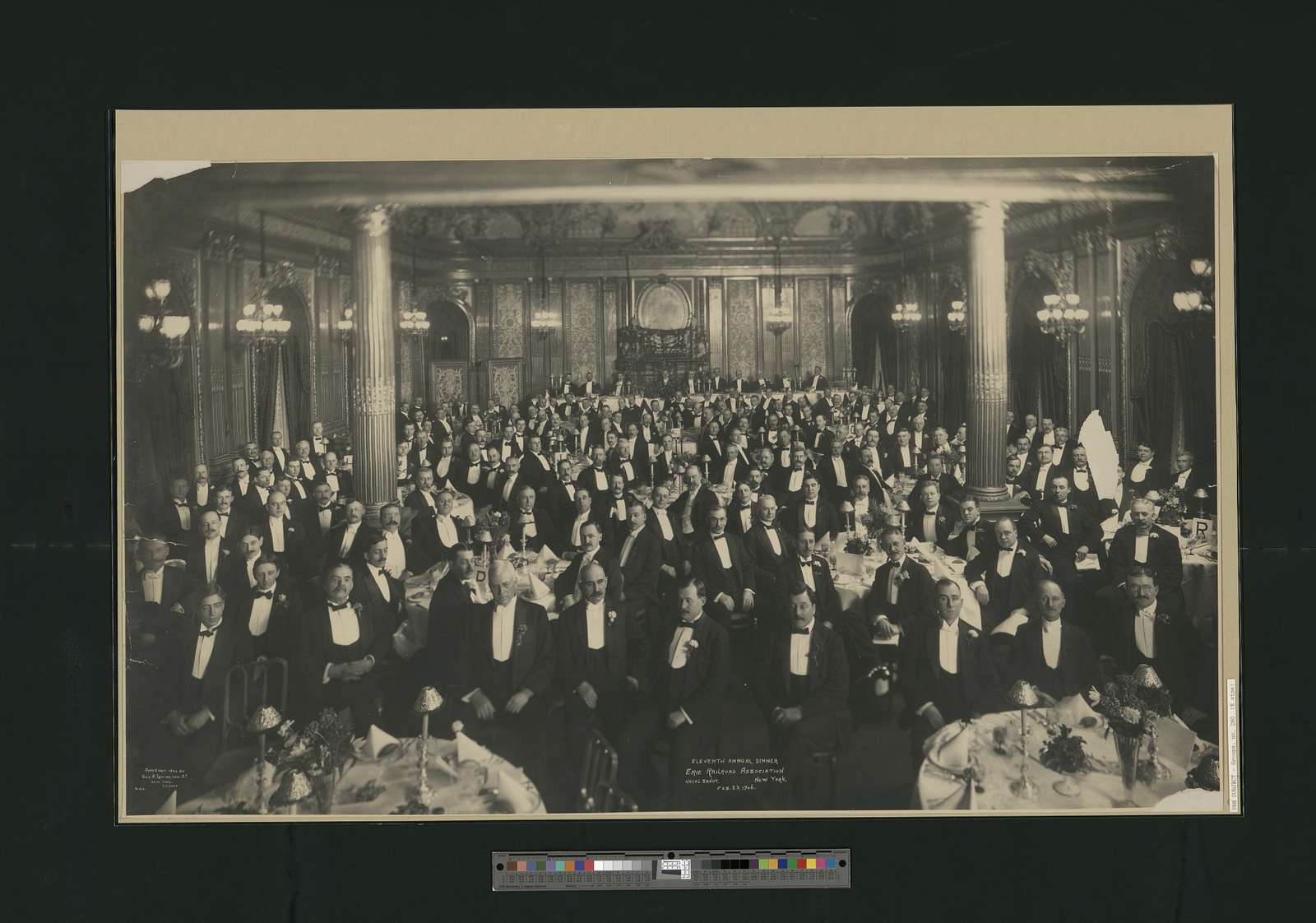 Eleventh Annual Dinner, Erie Railroad Association, Hotel Savoy, New York, Feb. 23, 1906