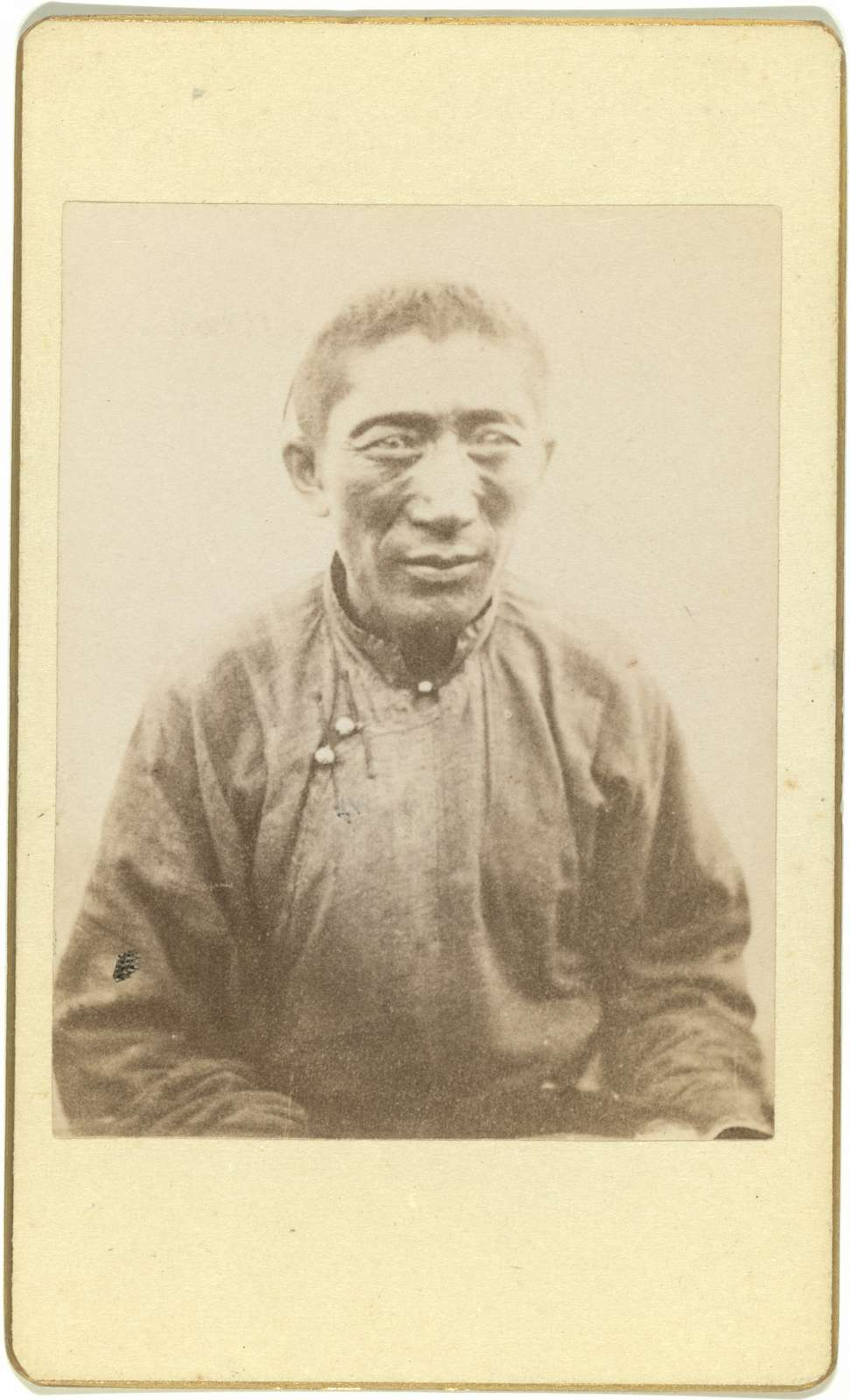 [Half-length portrait of man, seated, facing front]