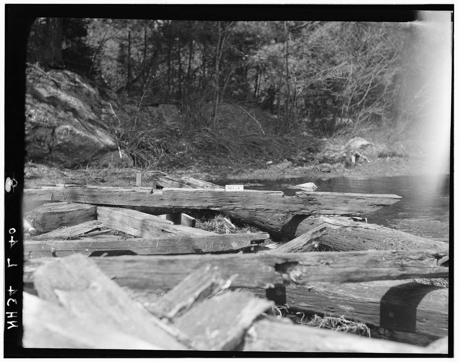James Saw Mill, Narrows Brook, Northwood Narrows, Rockingham County, NH