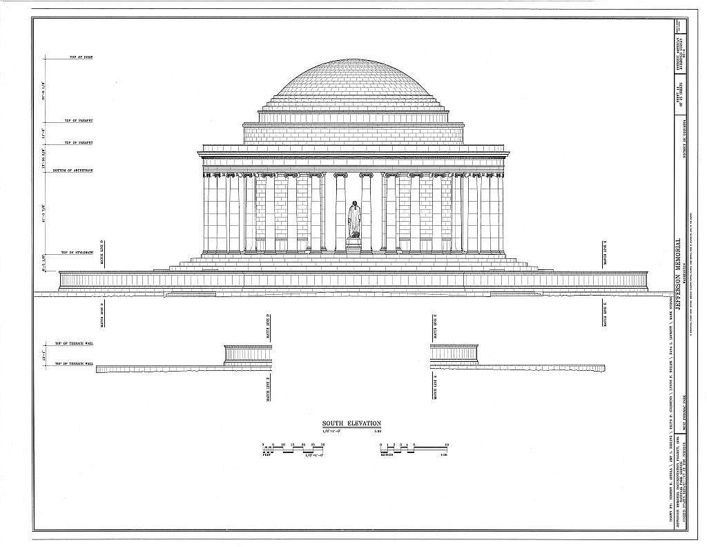 Jefferson Memorial, East Potomac Park, Washington, District of Columbia, DC