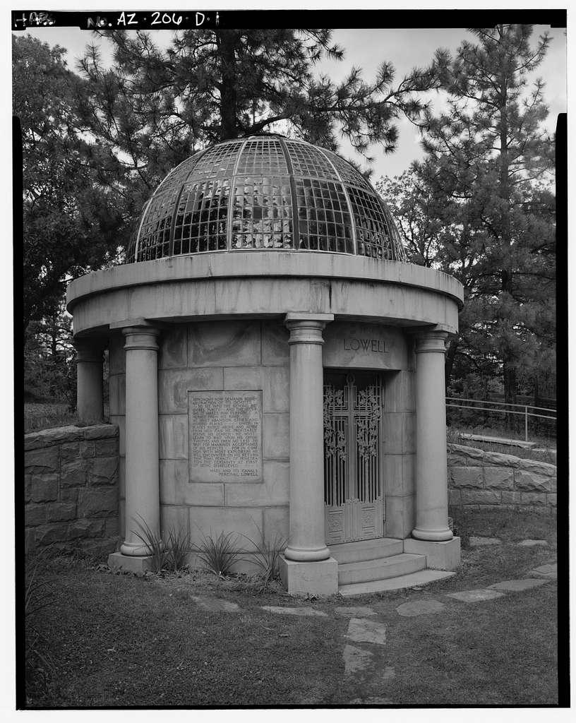 Lowell Observatory, Mausoleum, Flagstaff, Coconino County, AZ