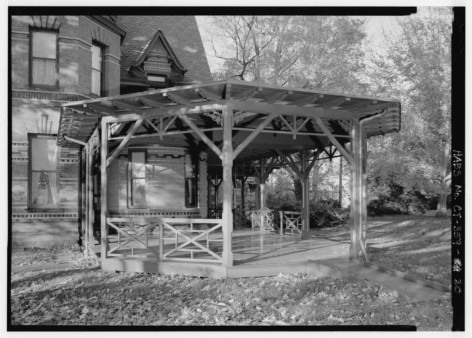 Mark Twain House, 351 Farmington Avenue (corrected from original address of 531 Farmington Avenue), Hartford, Hartford County, CT