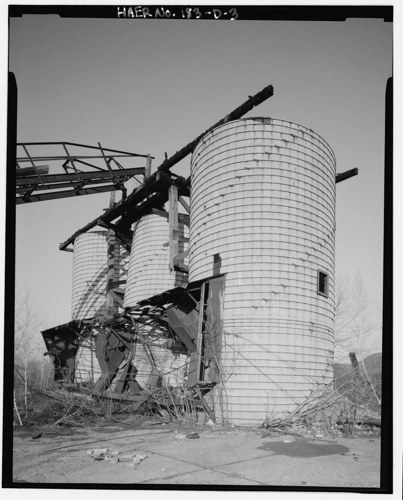 Marvine Colliery, Dorr Thickener Plant No. 1, West side Boulevard Avenue, between East Parker Street & Route 380, Scranton, Lackawanna County, PA