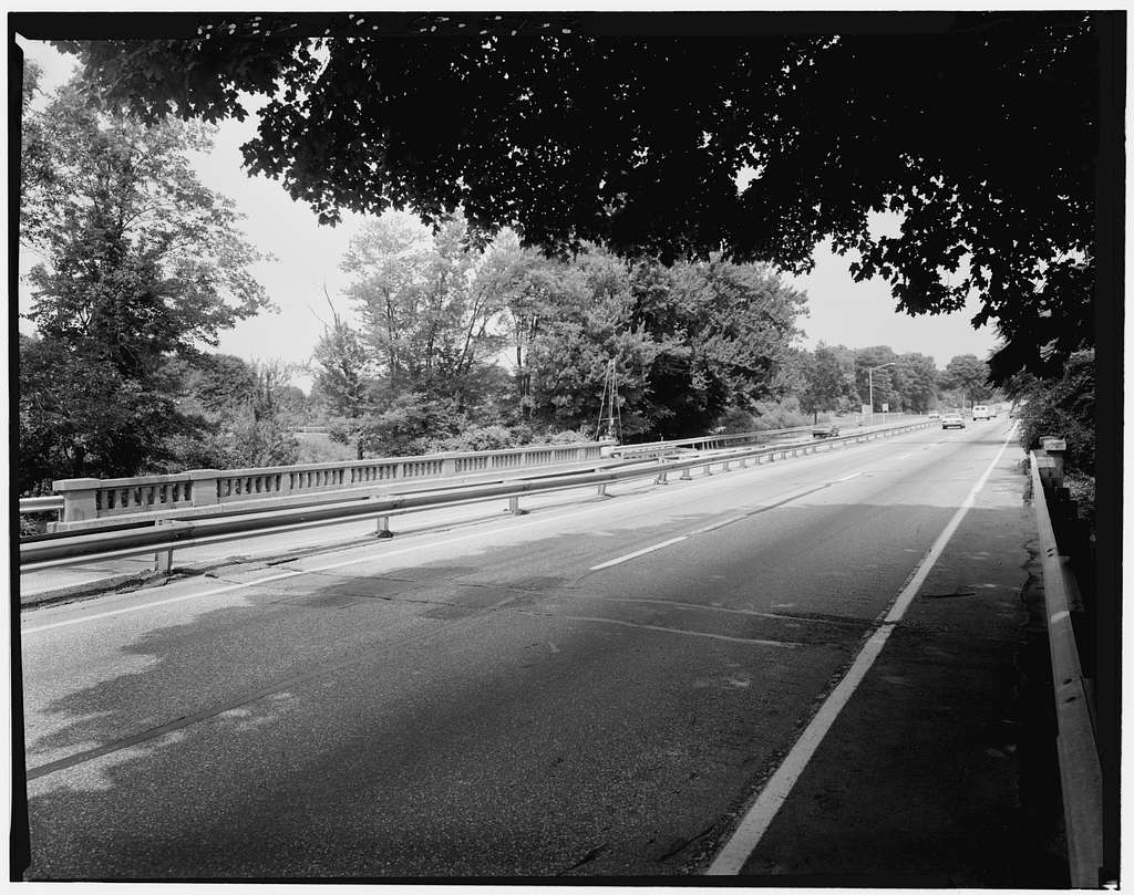 Merritt Parkway, Pequonnock River Bridge, Spanning Pequonnock River, Trumbull, Fairfield County, CT