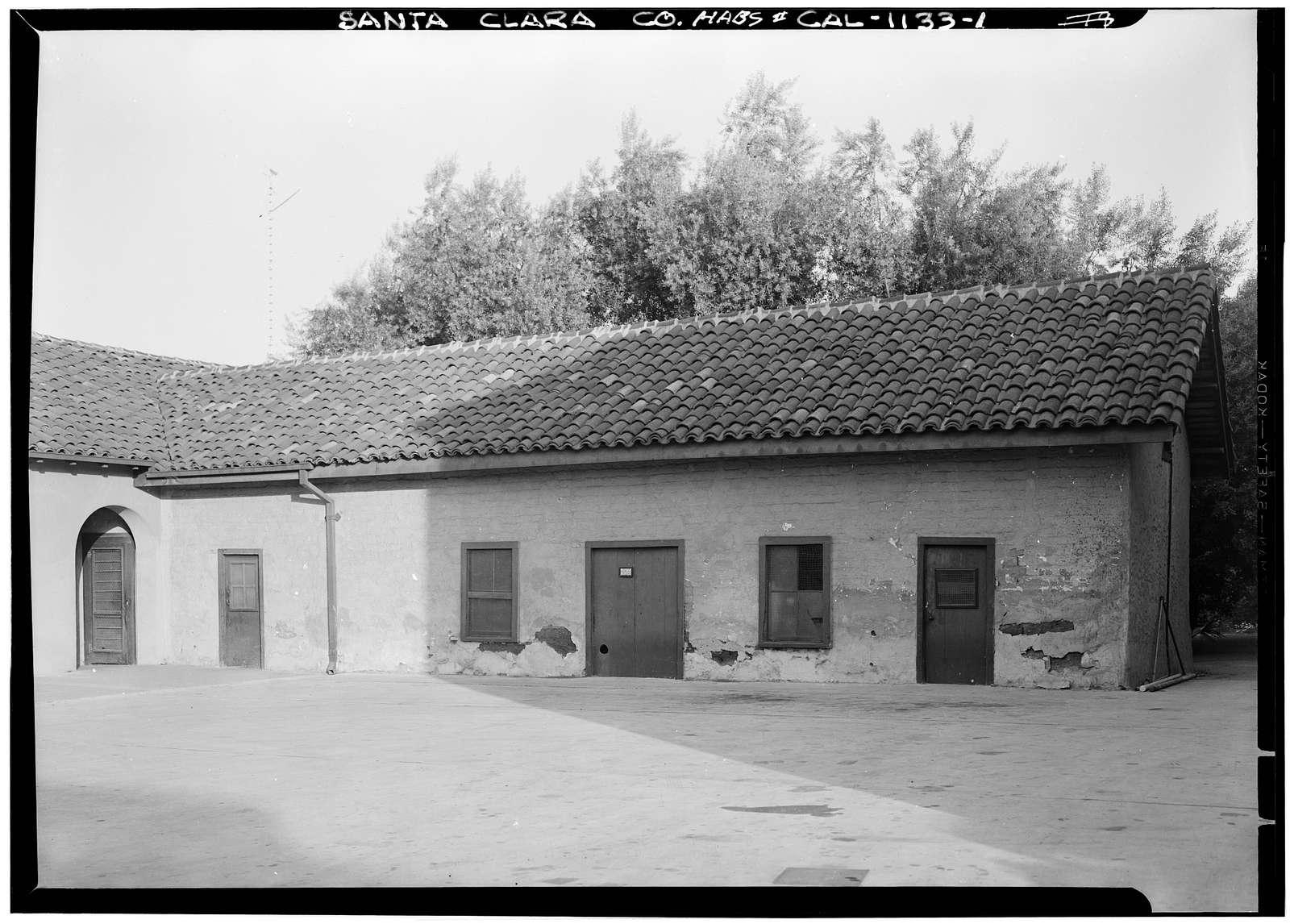 Mission Santa Clara de Asis, Franklin & Grant Streets, Santa Clara, Santa Clara County, CA