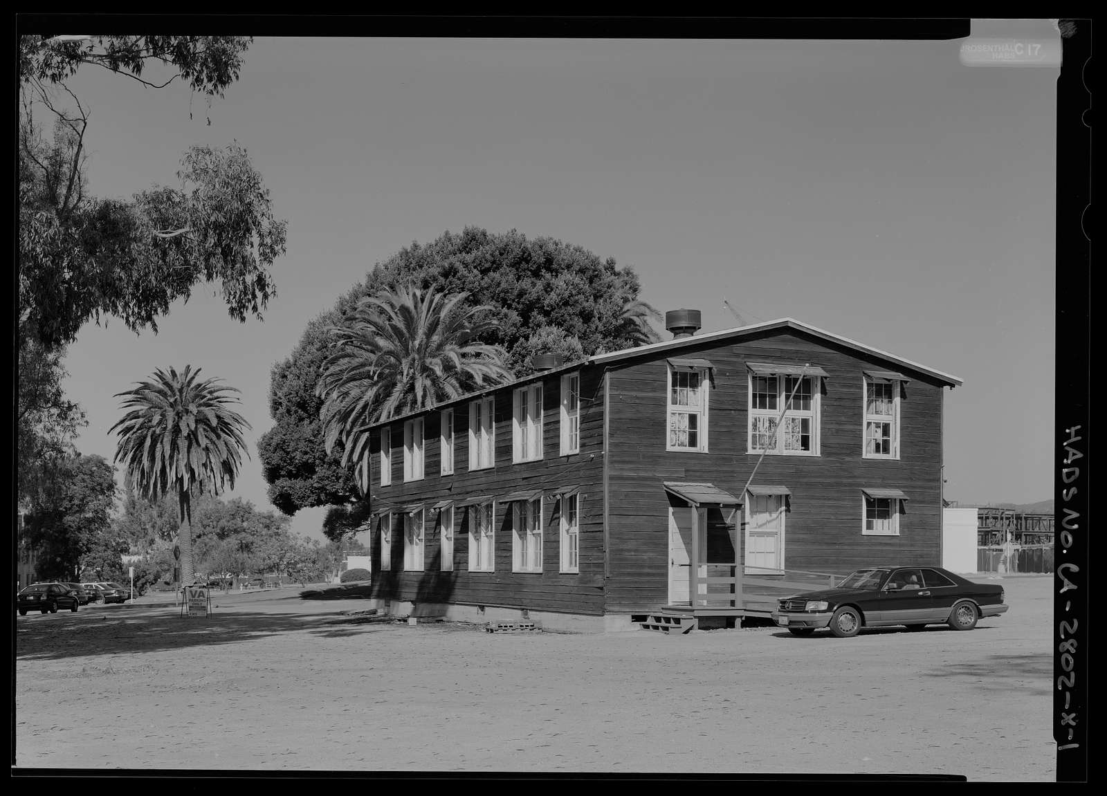National Home for Disabled Volunteer Soldiers, Pacific Branch, Hoover Baracks, 11301 Wilshire Boulevard, West Los Angeles, Los Angeles County, CA