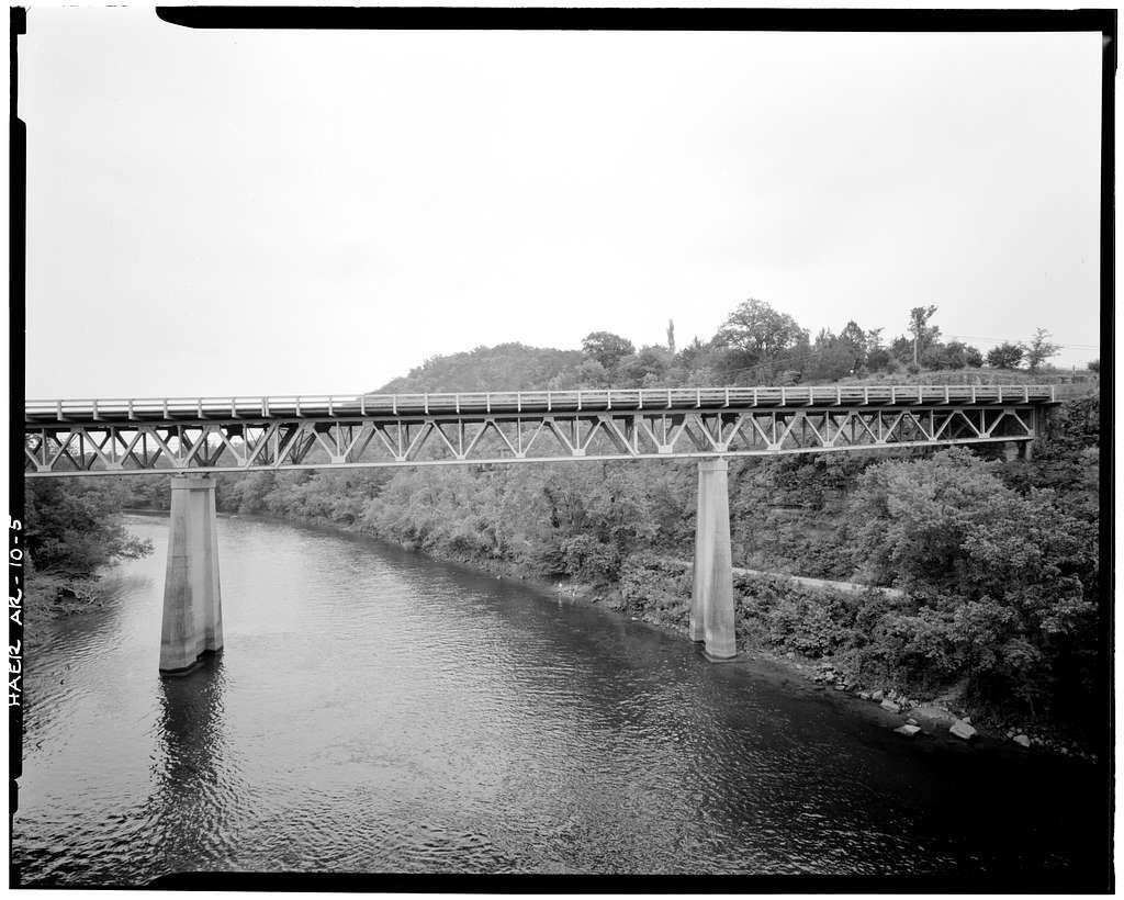 North Fork Bridge, Spans North Fork of White River at State Highway 5, Norfork, Baxter County, AR