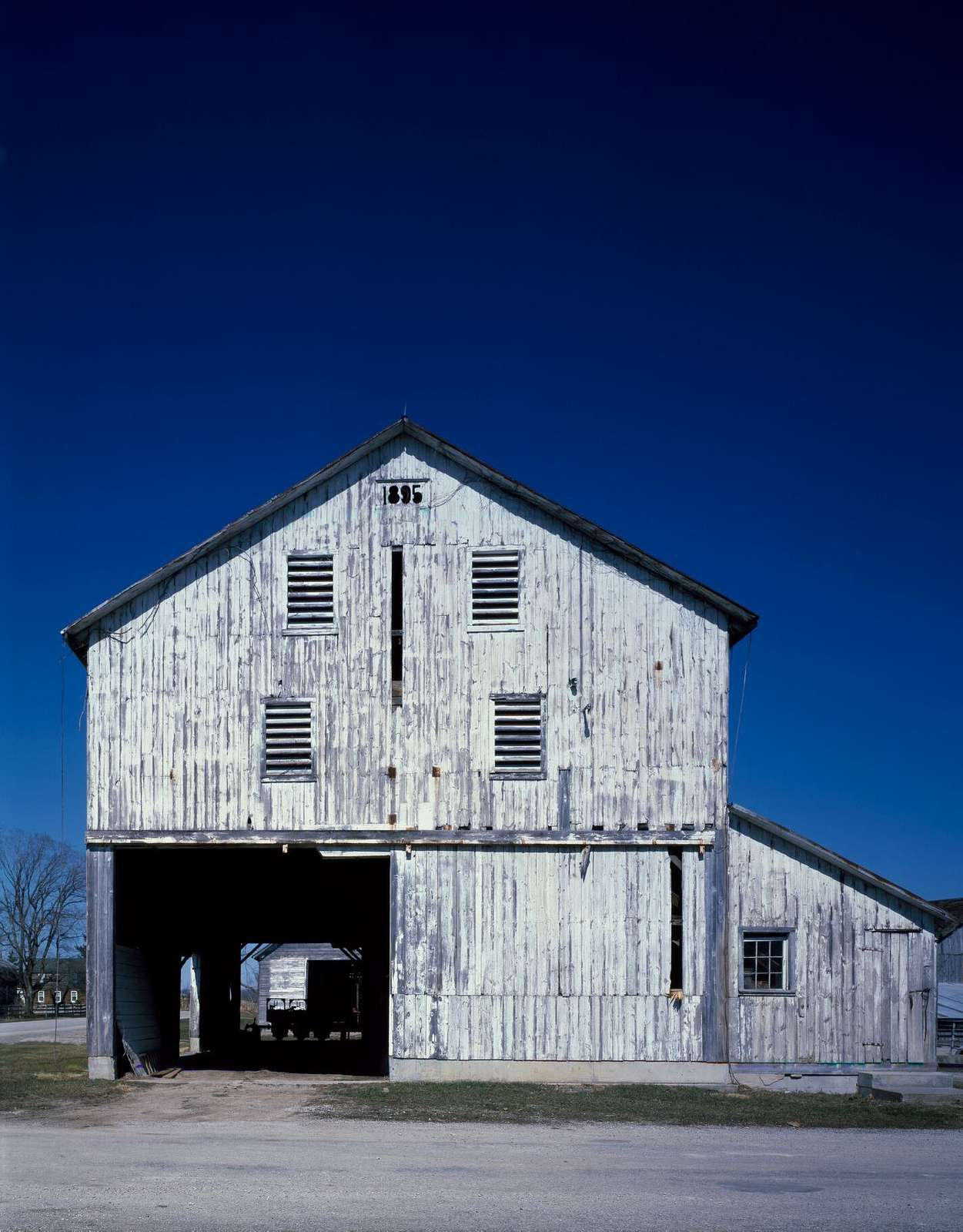 """Pass-through"" barn in the Amana Colonies, Iowa"