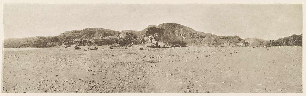 Sinaihalbinsel Ostseite: Wâdi Ṭâba. 1914.