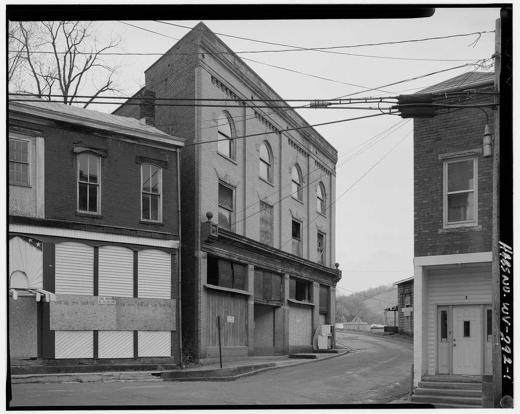 Sinsel Hardware Building, 2 Pennsylvania Avenue, Cameron, Marshall County, WV