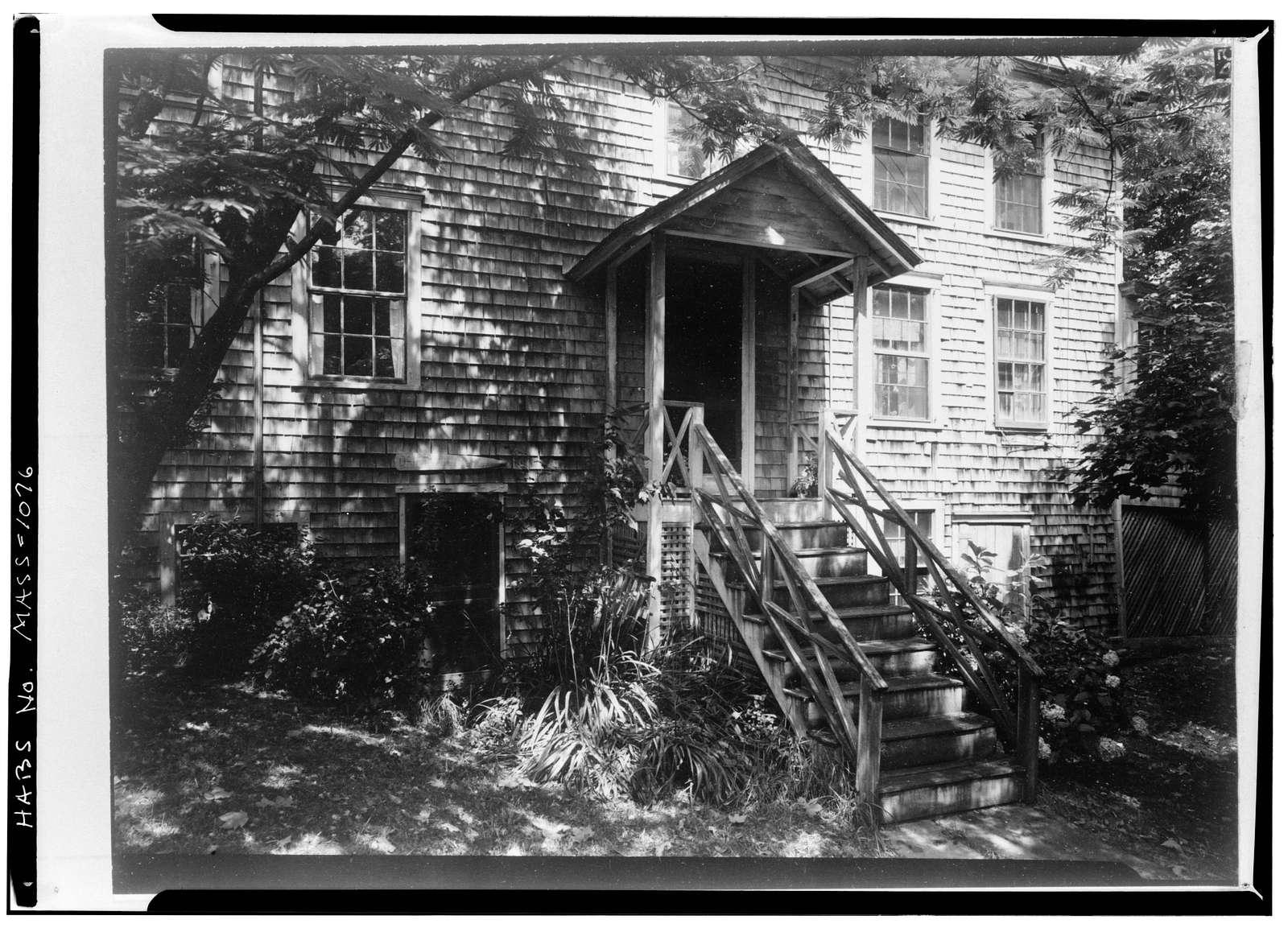 Solomon & Paul Gardner Houses, 1 & 3 Stone Alley, Nantucket, Nantucket County, MA