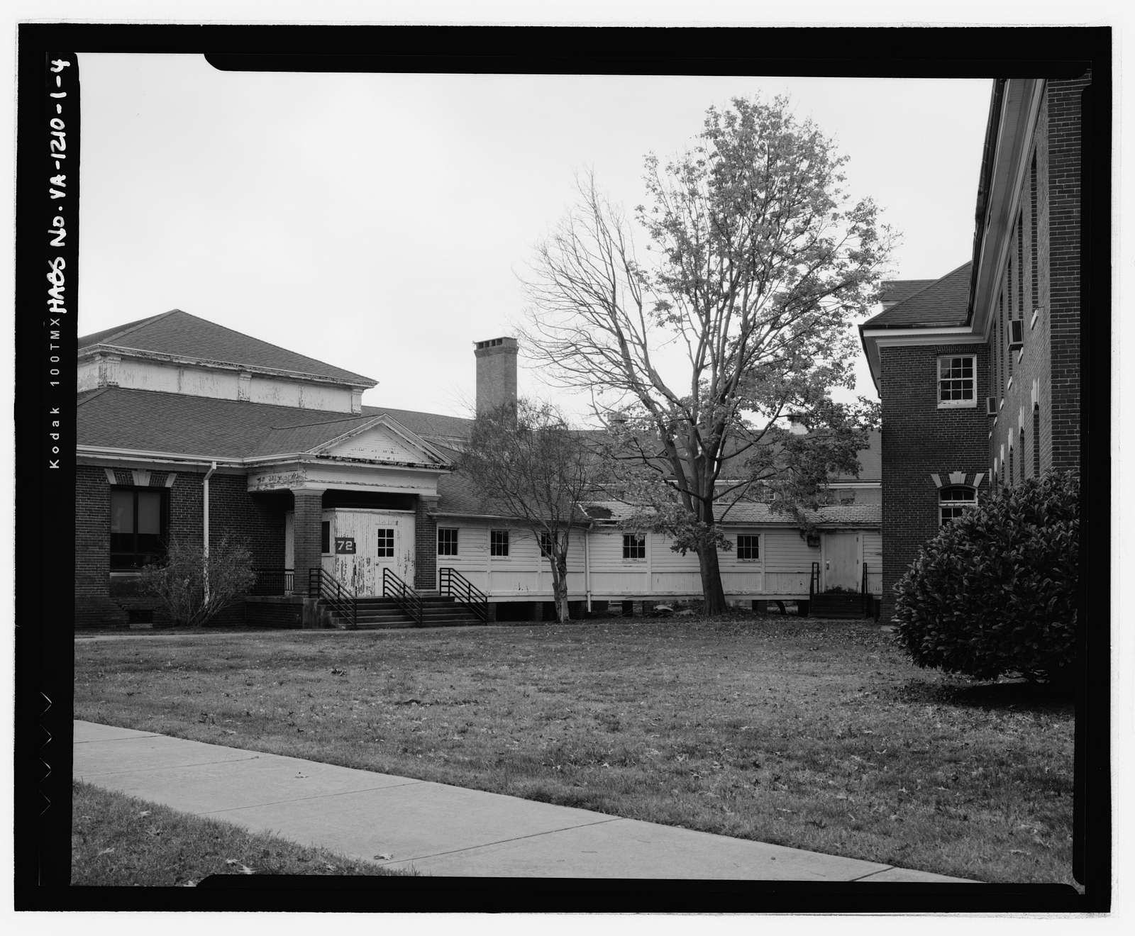 Southern Branch of the National Home for Disabled Volunteer Soldiers, Building 72, Martin Luther King Jr. Boulevard, Hampton, Hampton, VA