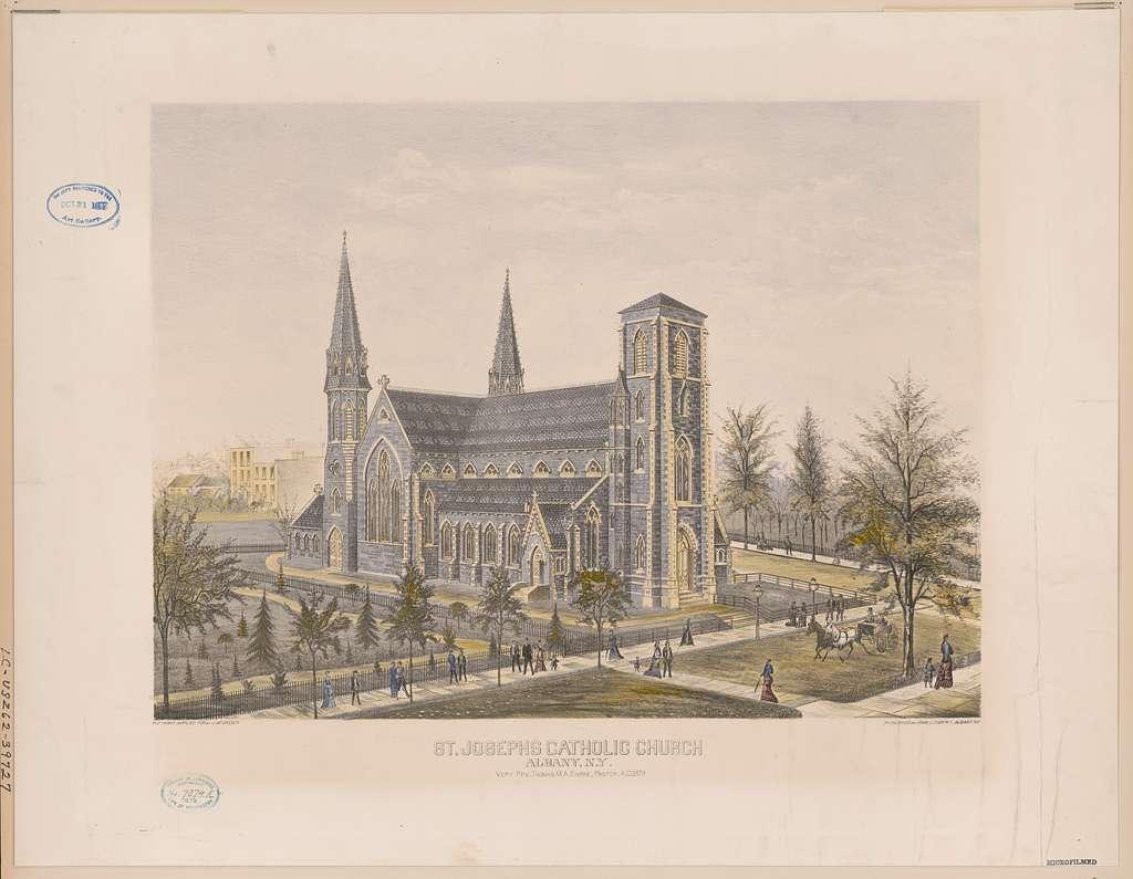 St. Josephs Catholic Church, Albany, N.Y.