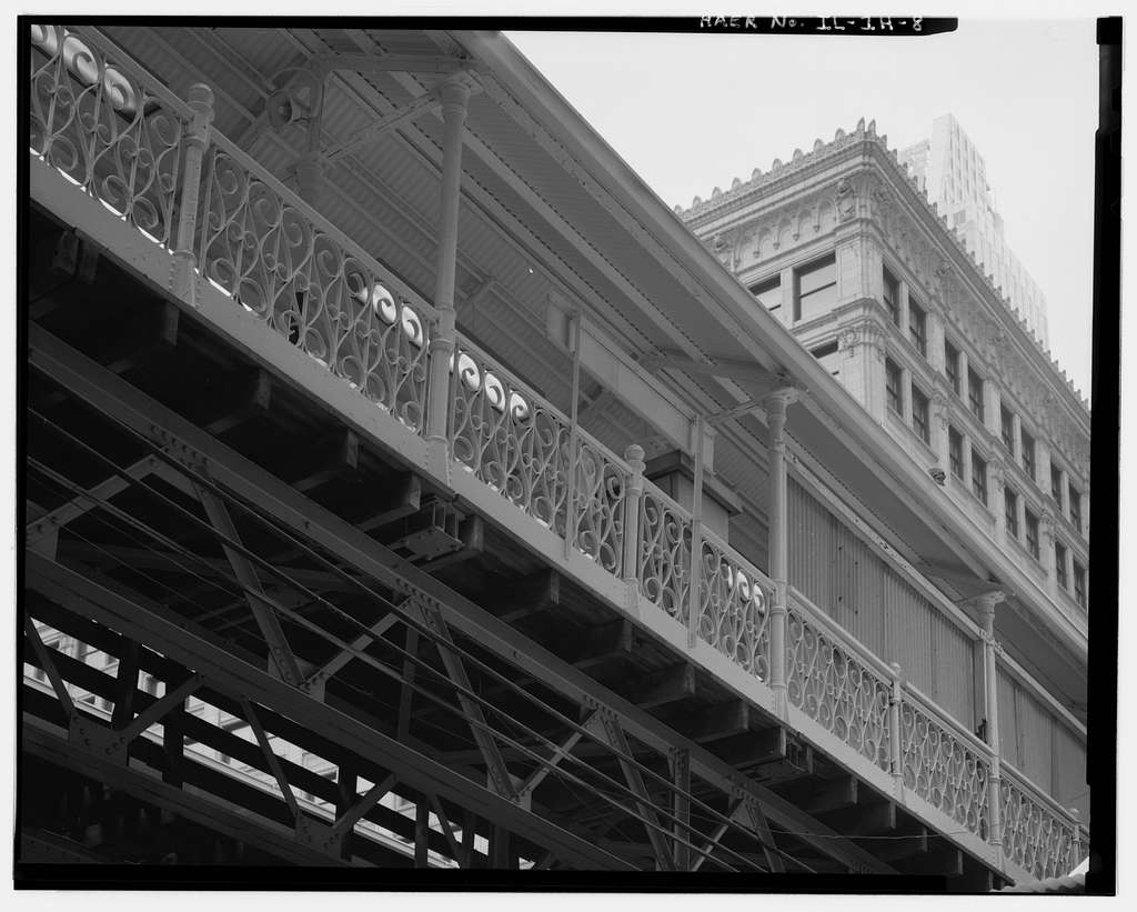 Union Elevated Railroad, State-Lake Station, State & Lake Streets, Chicago, Cook County, IL