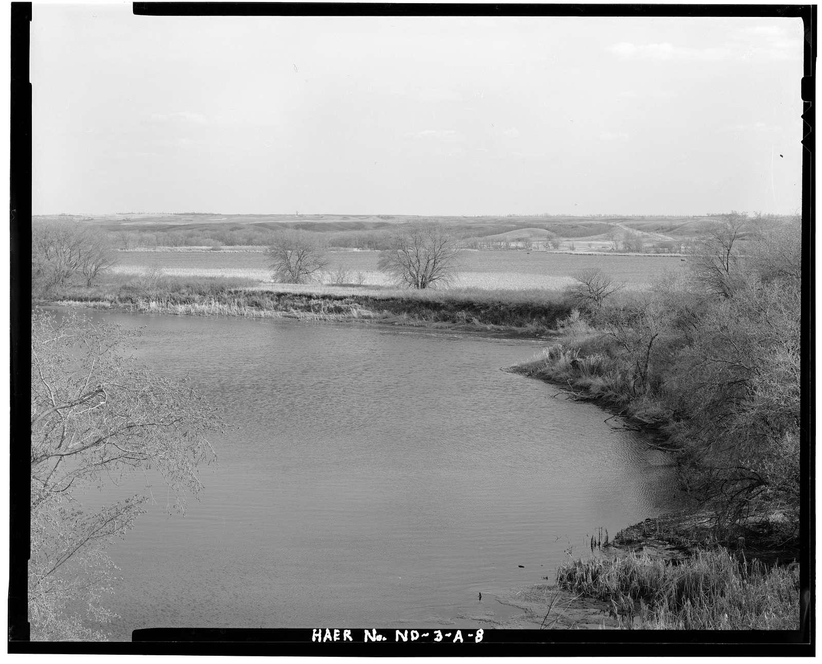 Upper Souris National Wildlife Refuge, Dam 83, Souris River Basin, Foxholm, Ward County, ND