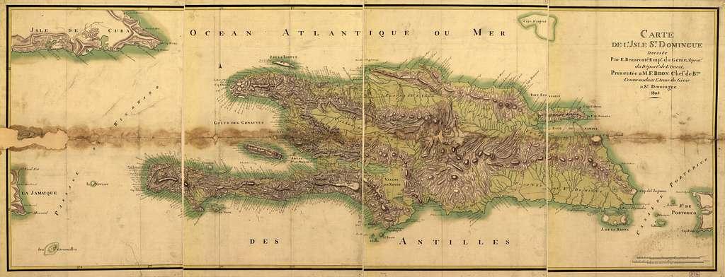 Carte de l'Isle St. Domingue /