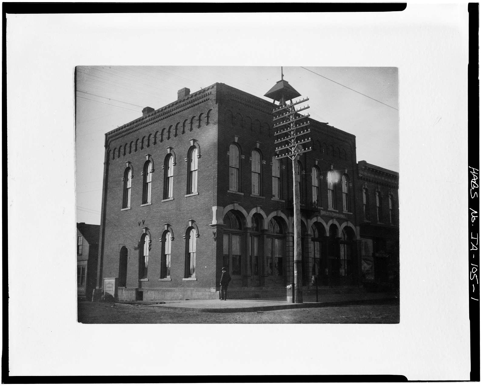 City Hall, Eighth & Allen Streets, Boone, Boone County, IA