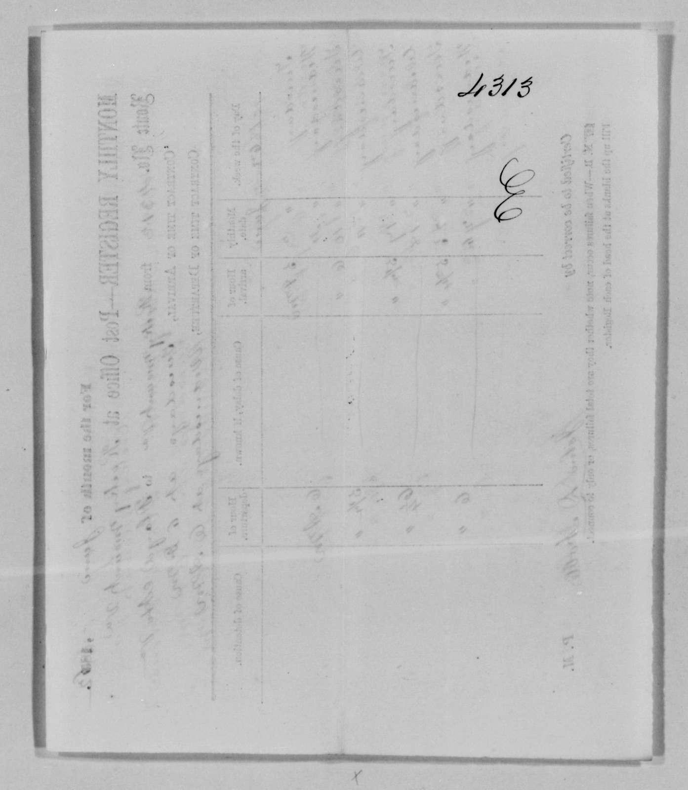 Confederate States of America records: Microfilm Reel 62