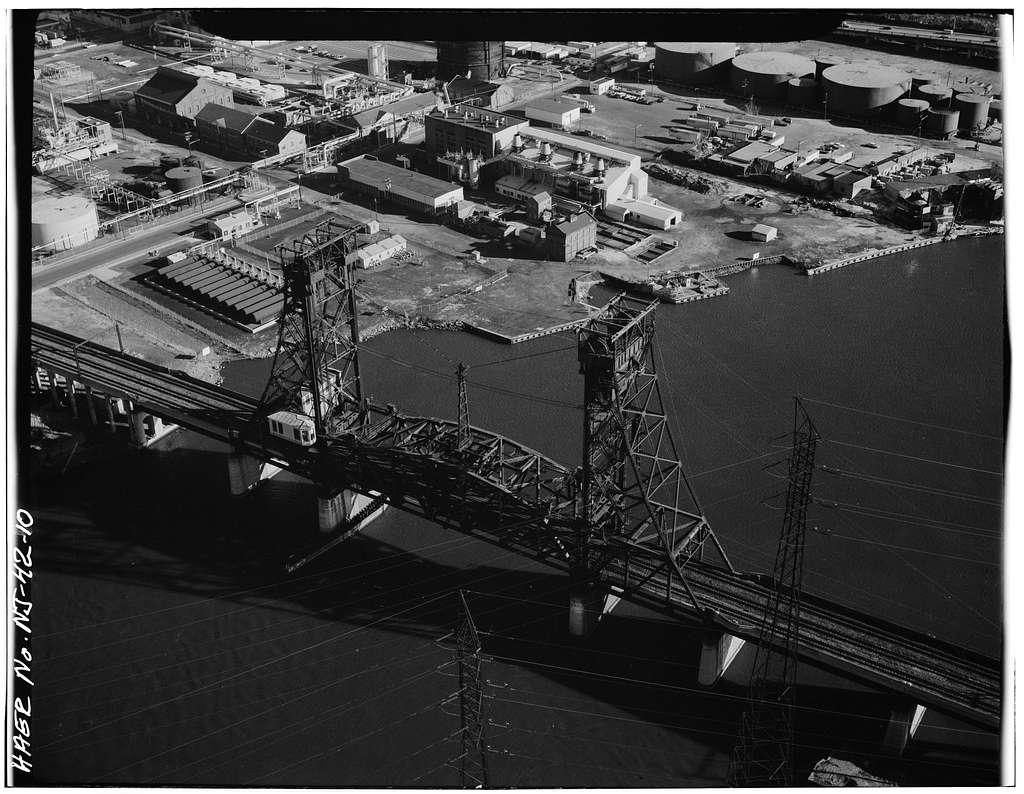 Erie & Lackawanna Railroad Bridge, Spanning Hackensack River, Kearny, Hudson County, NJ