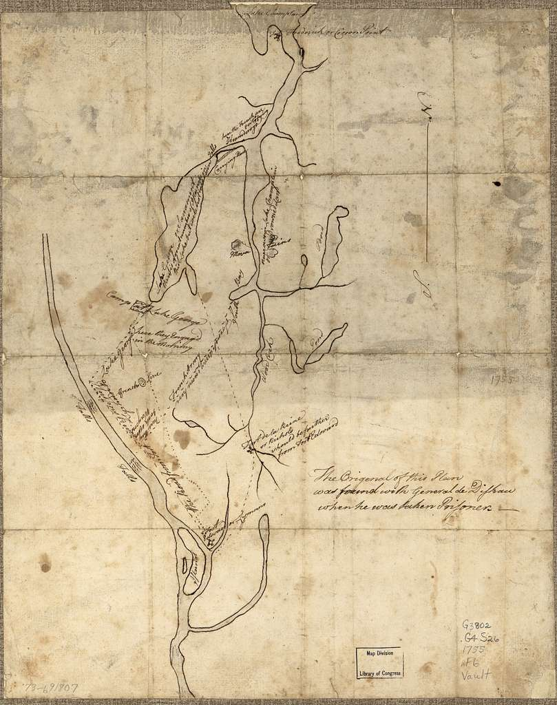[Fort Edward to Crown Point.