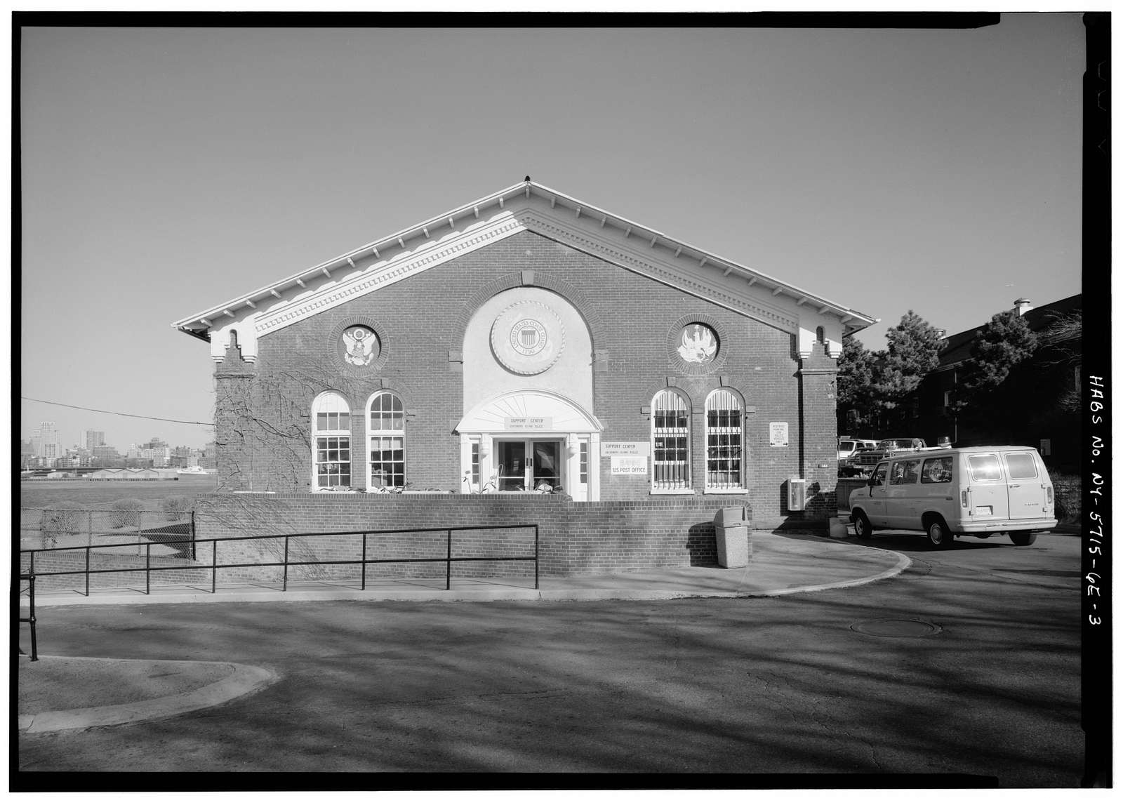 Governors Island, New York Arsenal, Storehouse, New York Harbor near Carder Road, New York, New York County, NY