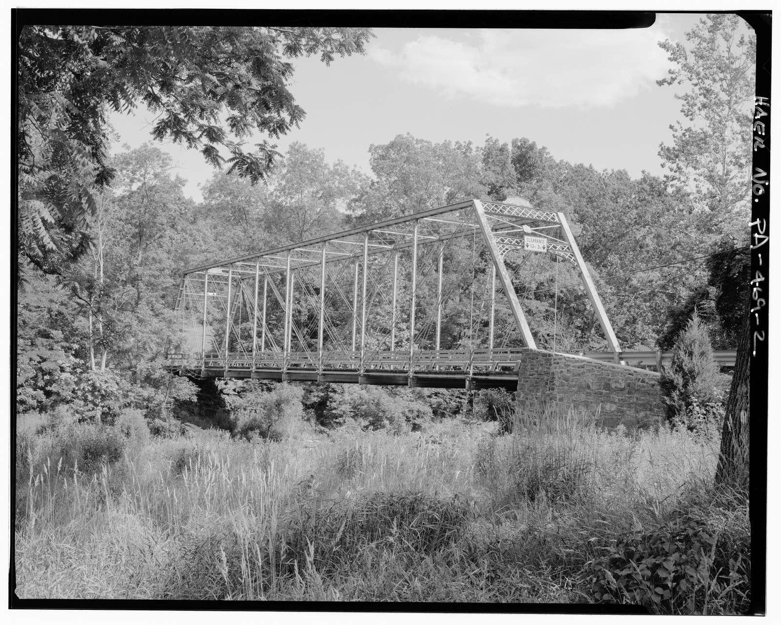 Kralltown Road Bridge, Spanning Bermudian Creek at Kralltown Road (State Route 4017), Kralltown, York County, PA